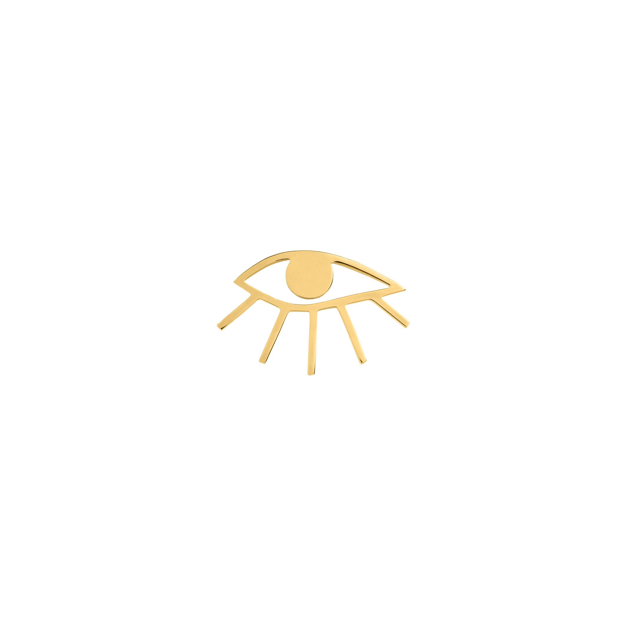 Eye Pin Gold