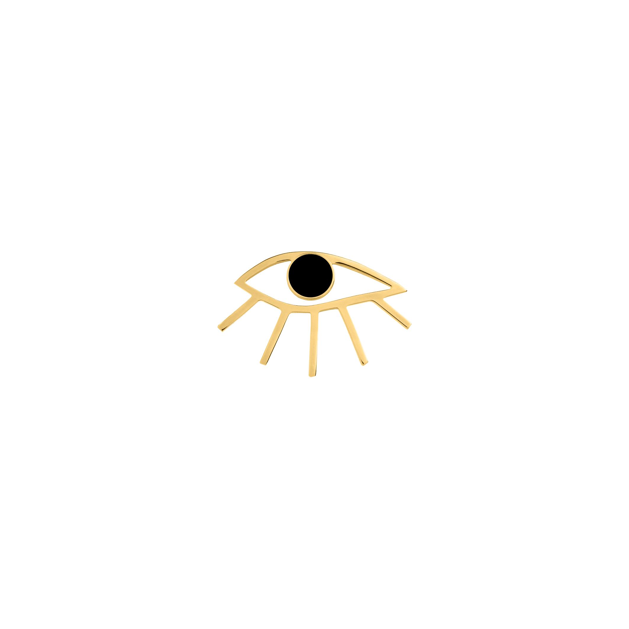 Eye Pin Black