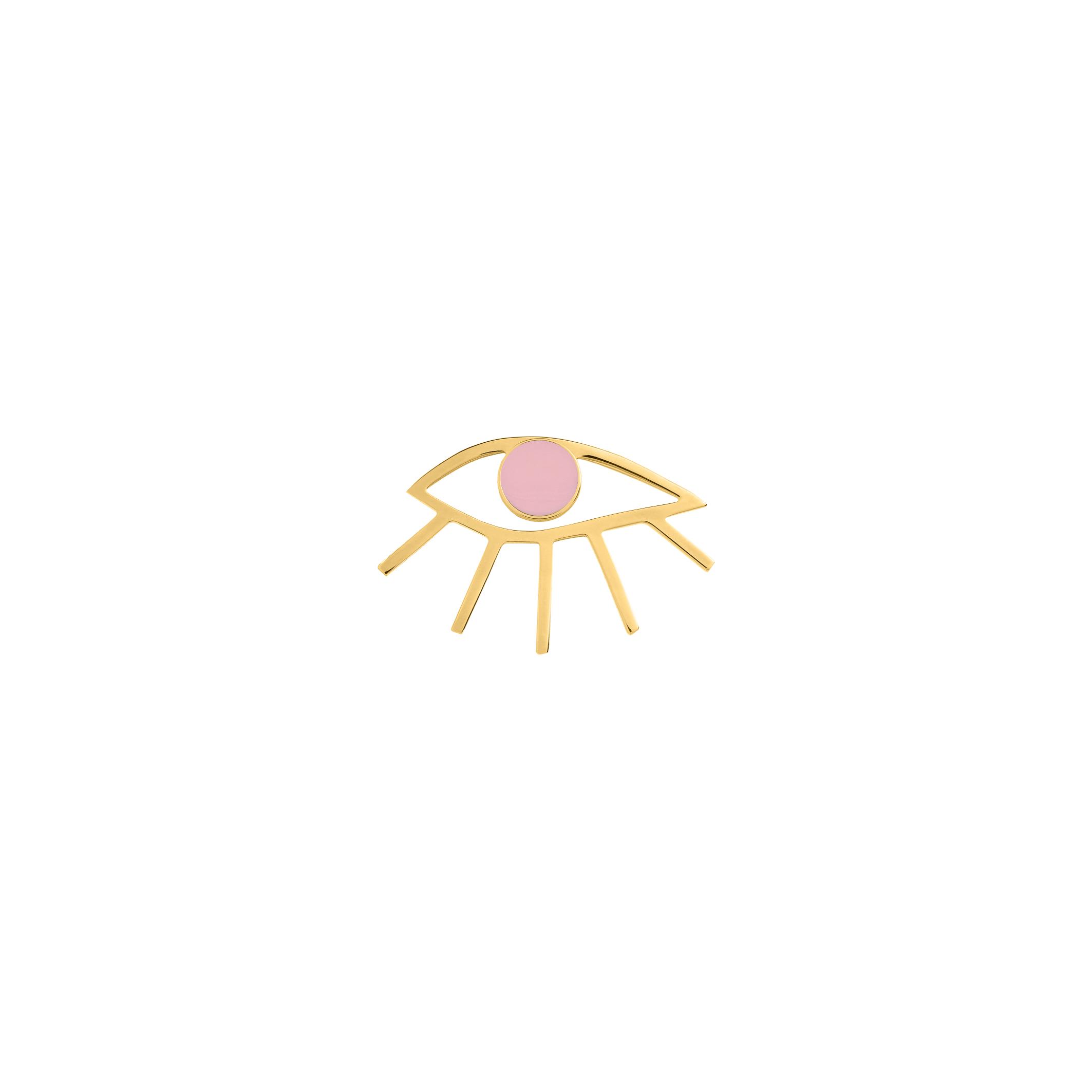 eye pin- pink