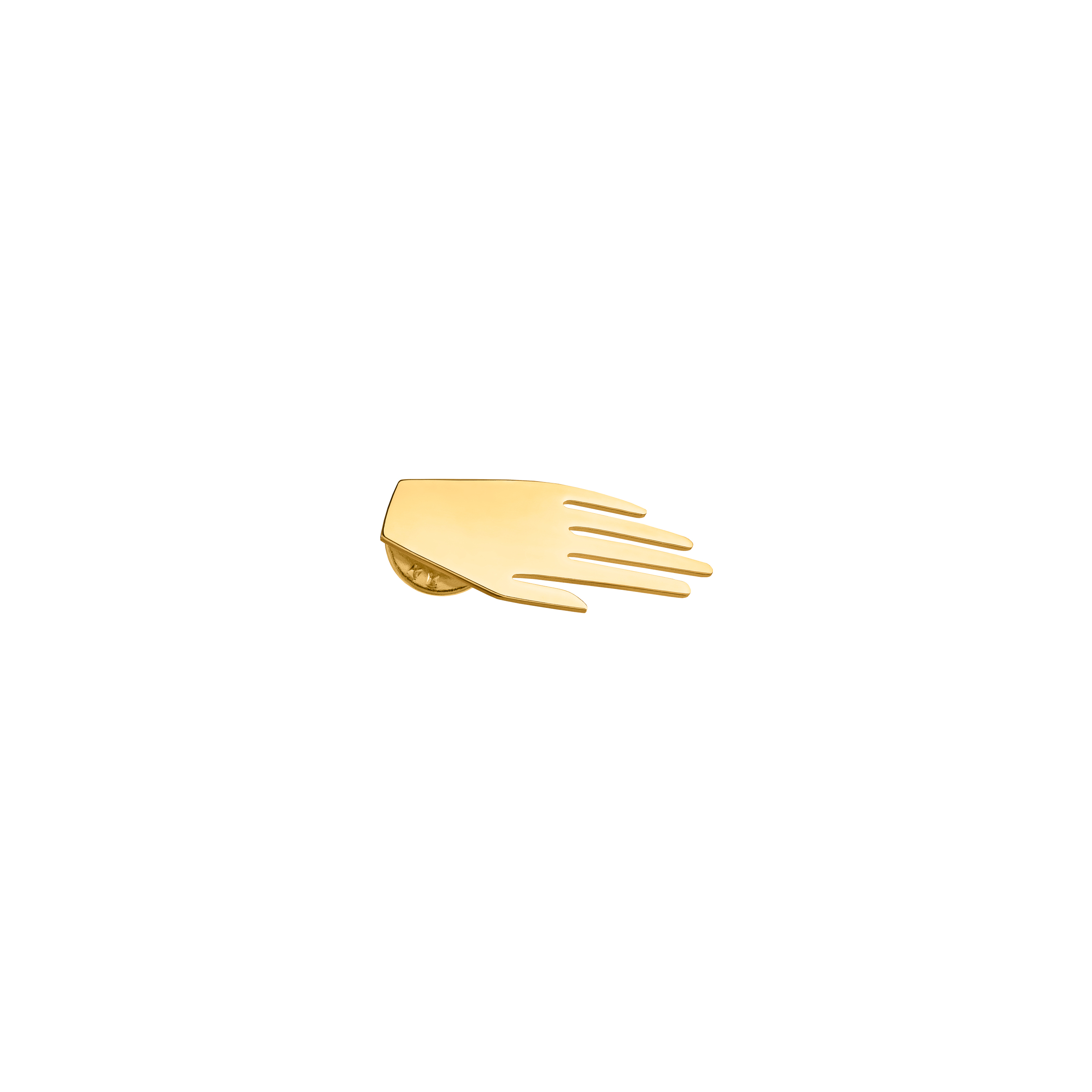 hand pin – gold