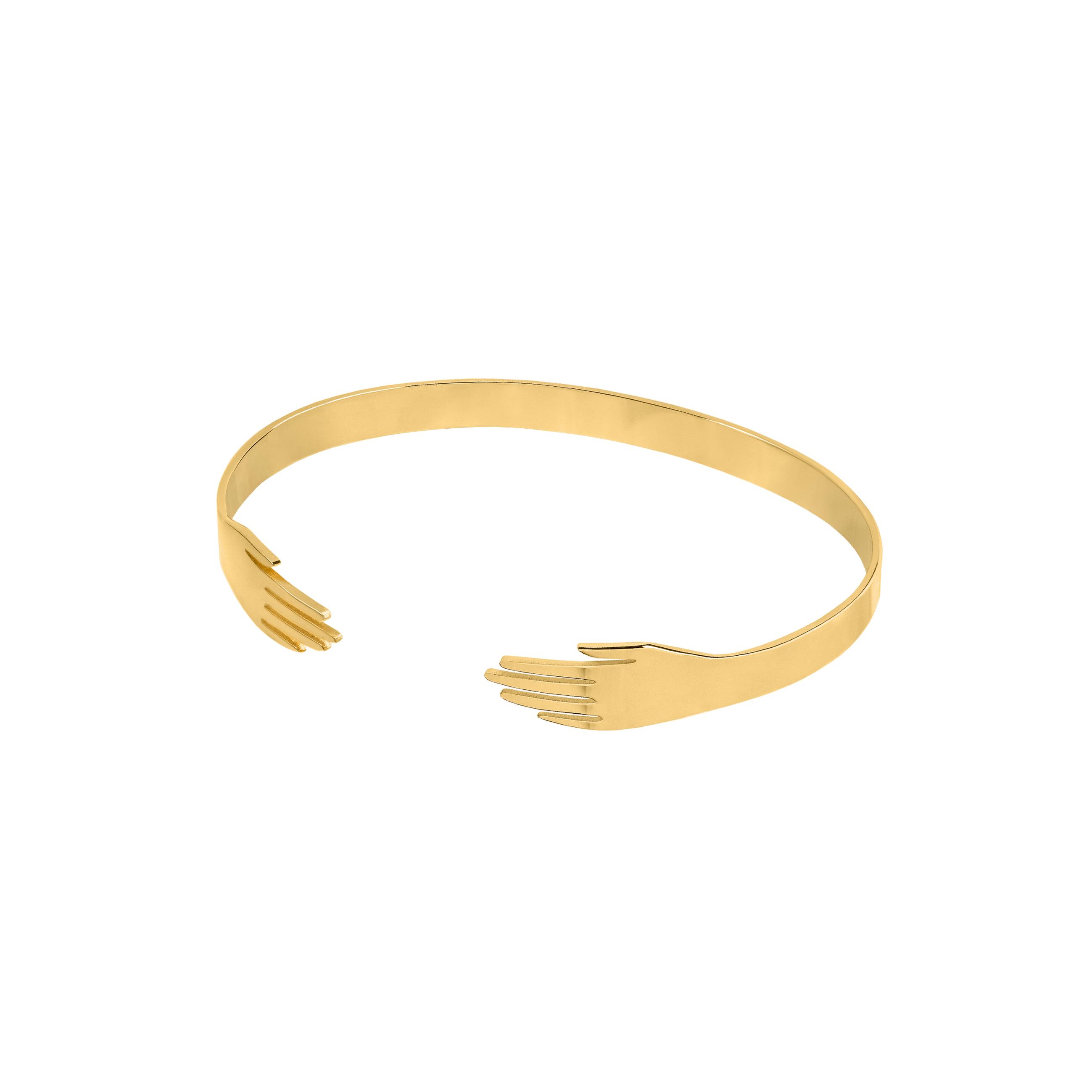 Hand Bracelet Gold