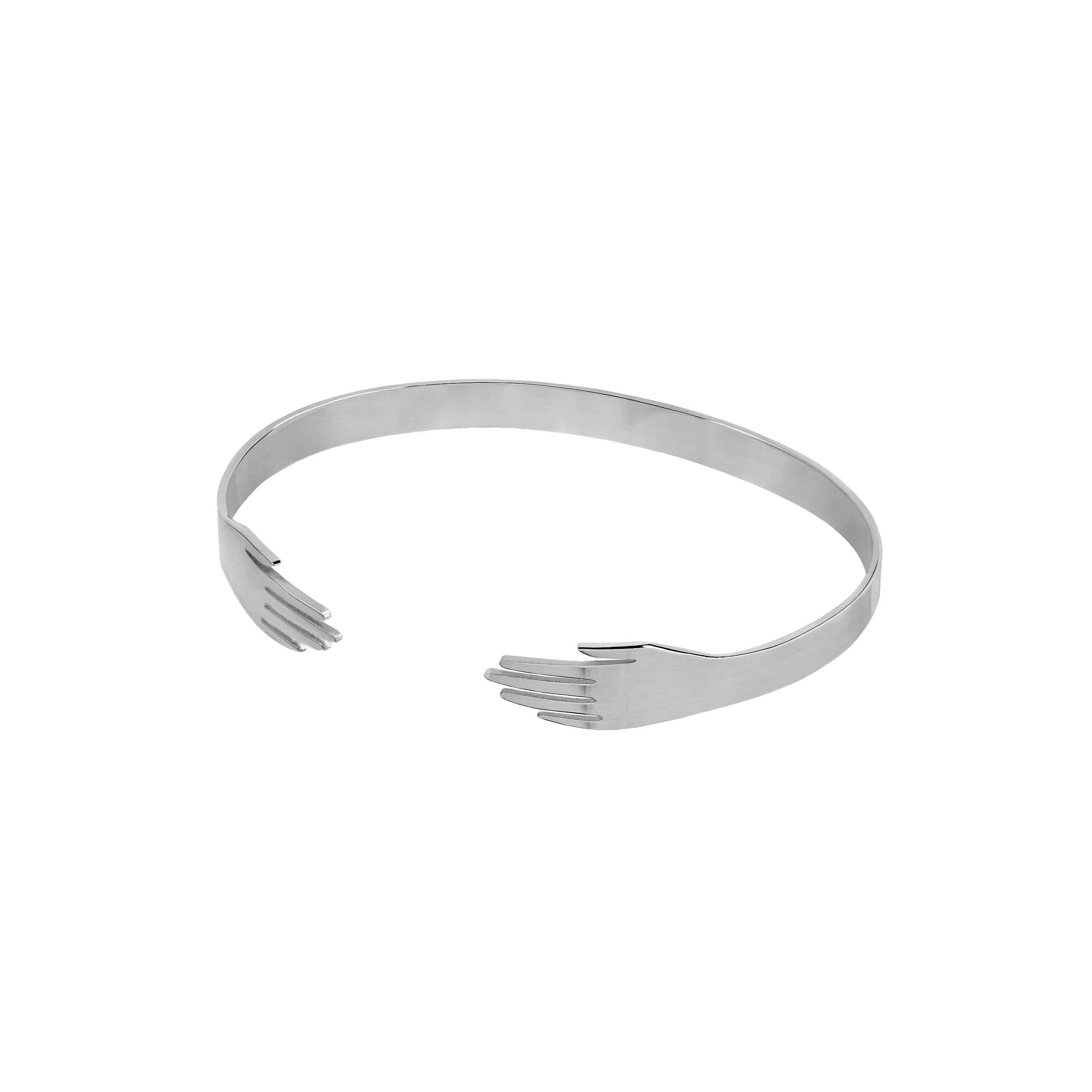 Hand Bracelet Silver
