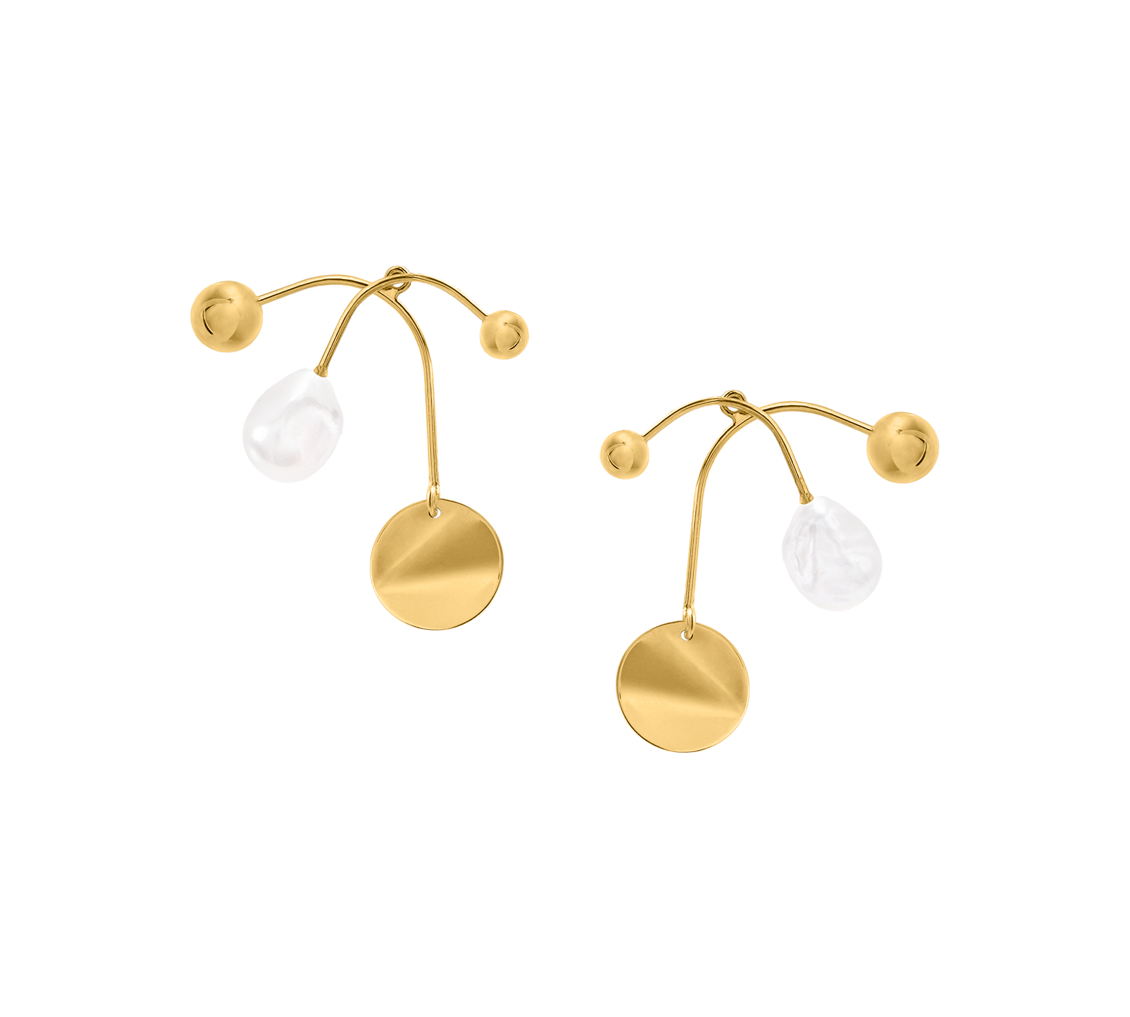 Mobile Earrings Two Part