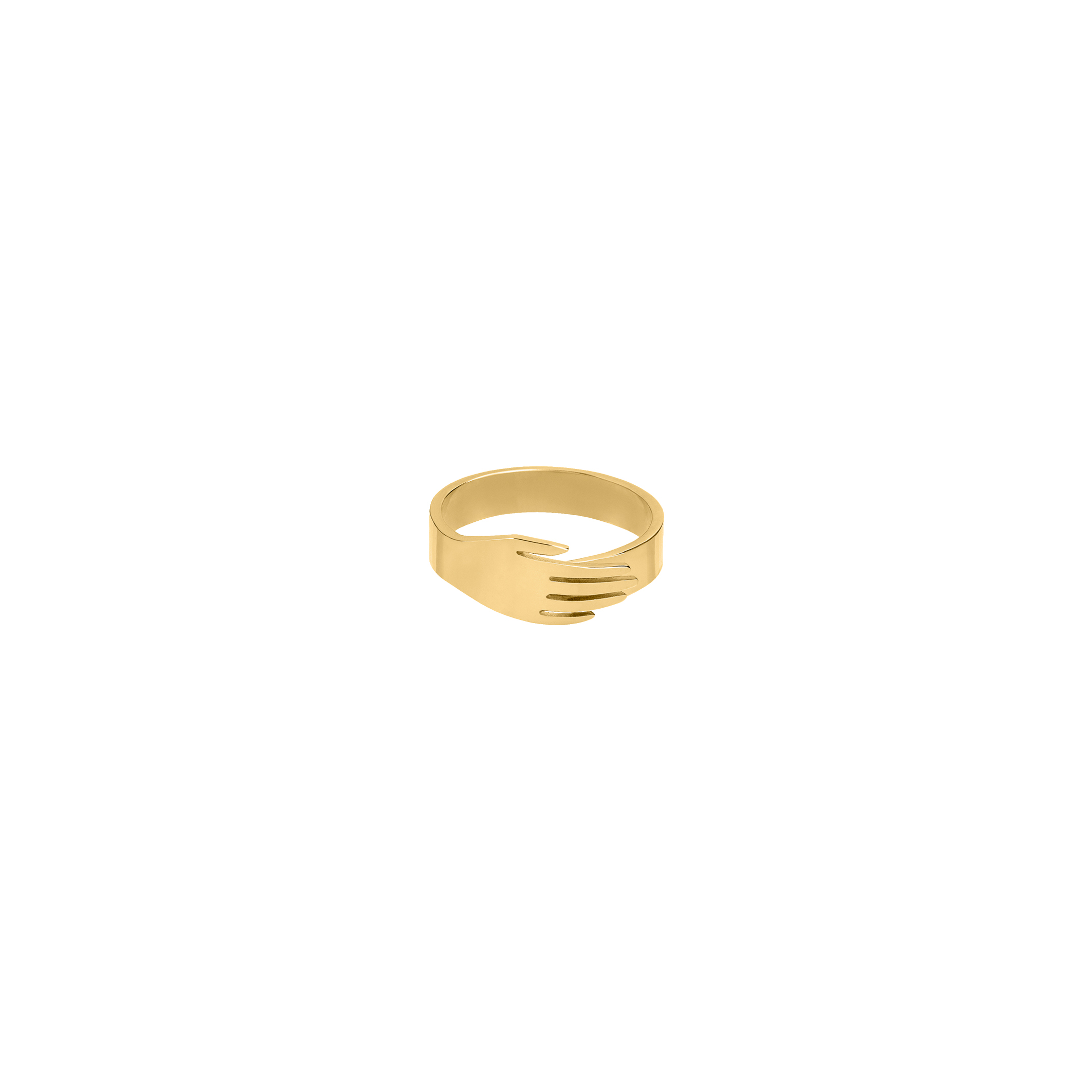 Hand Ring Gold