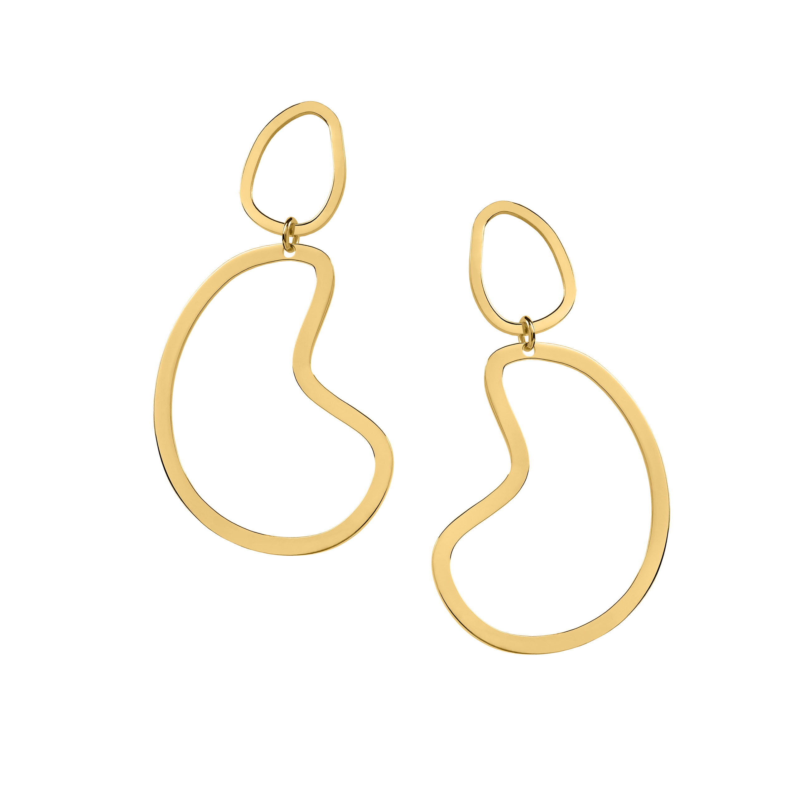 big arp earrings