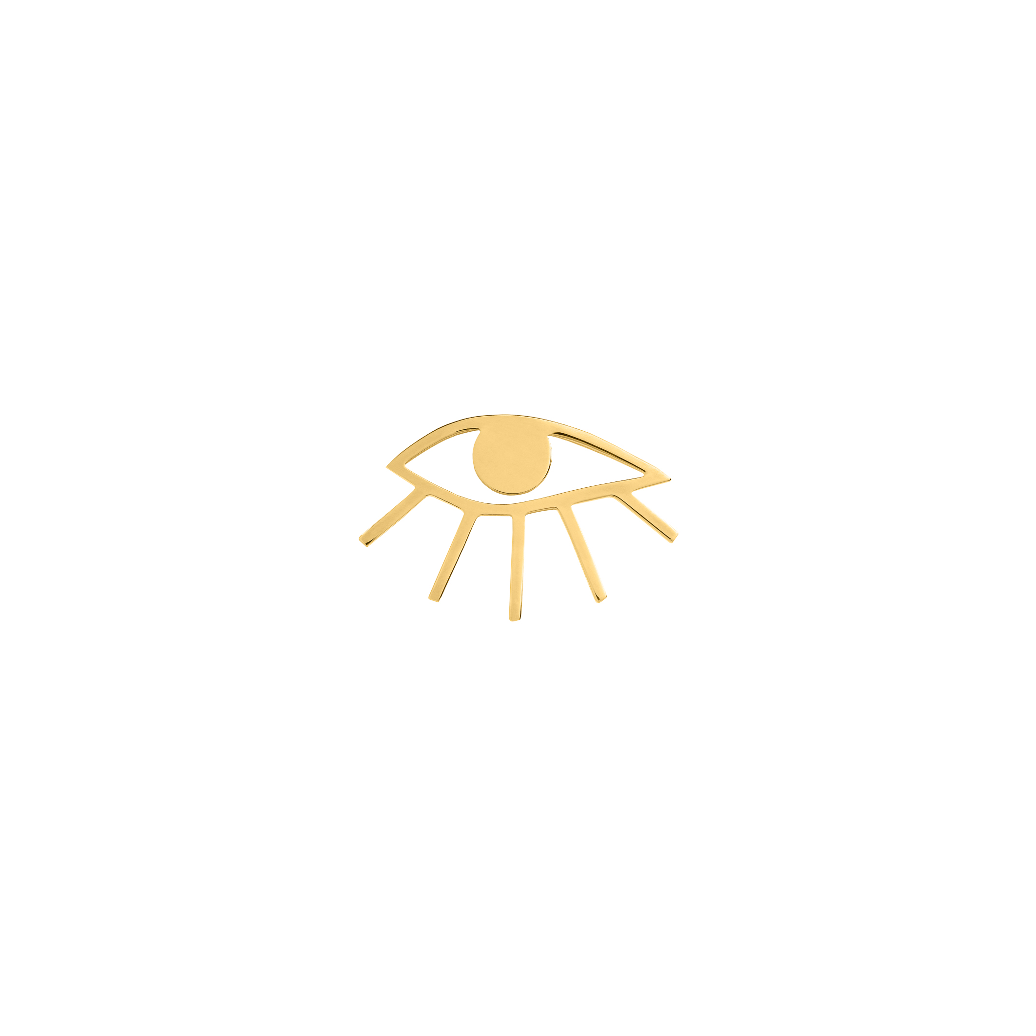 EYE PIN GOLD
