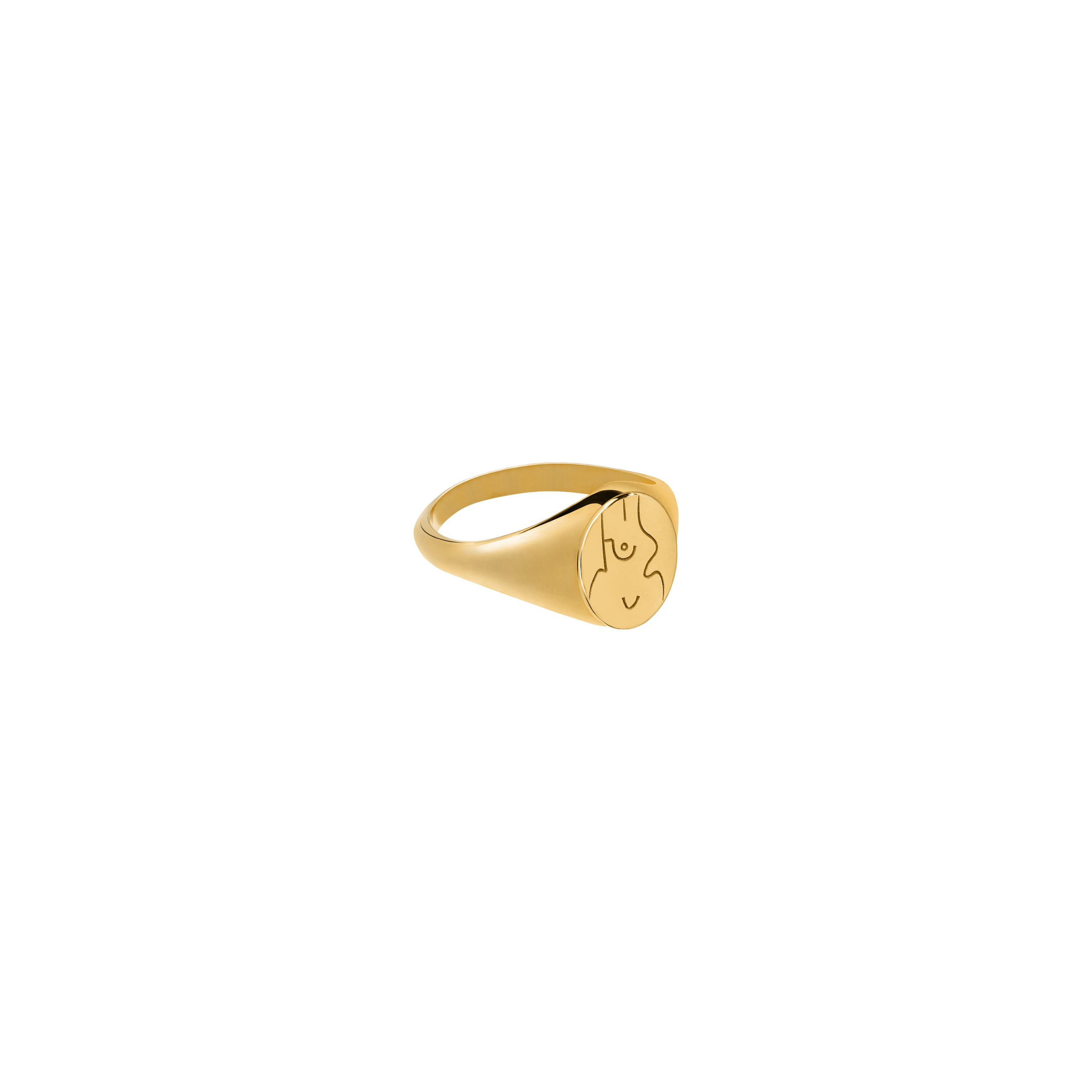 Sygnet Féminin Gold