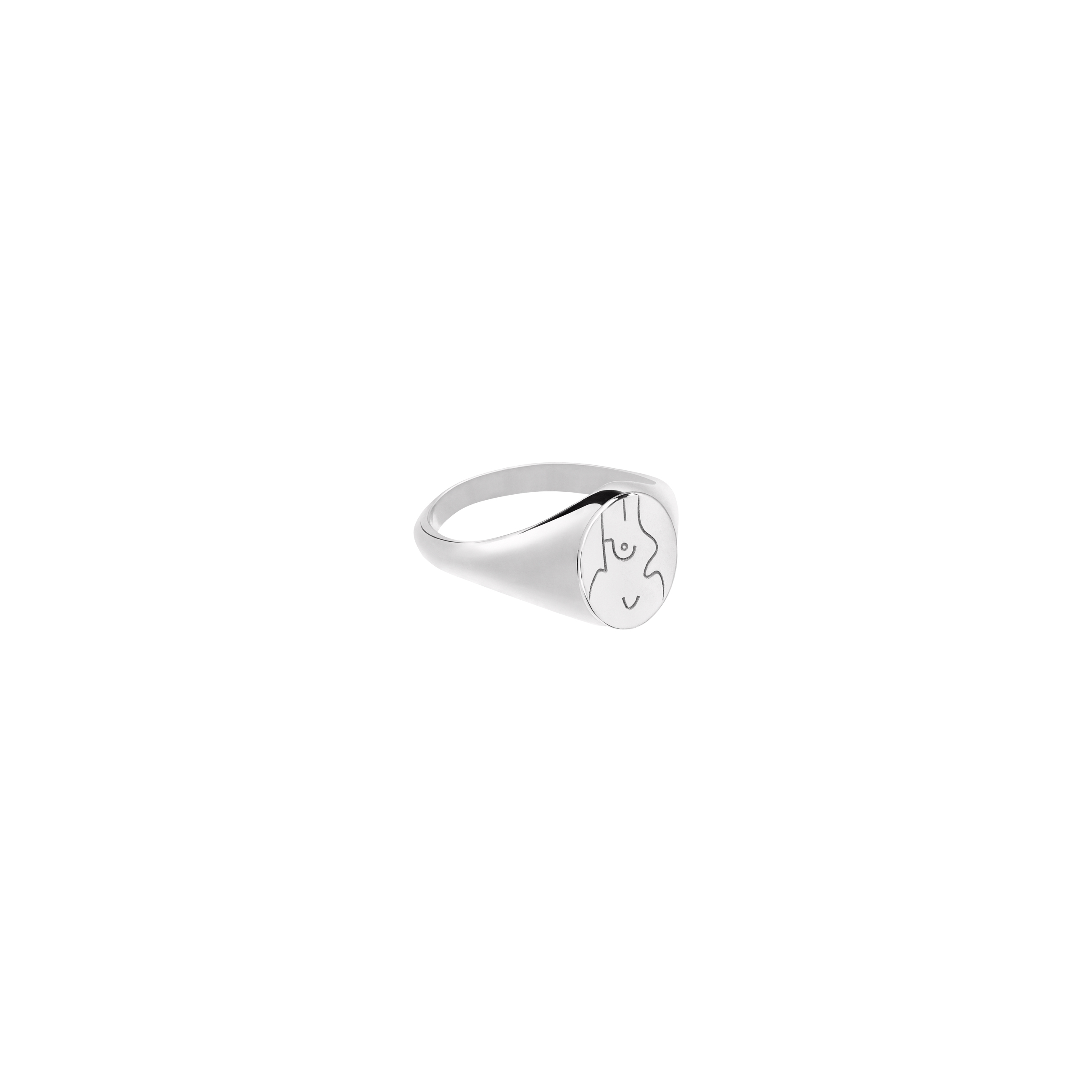 sygnet feminin silver