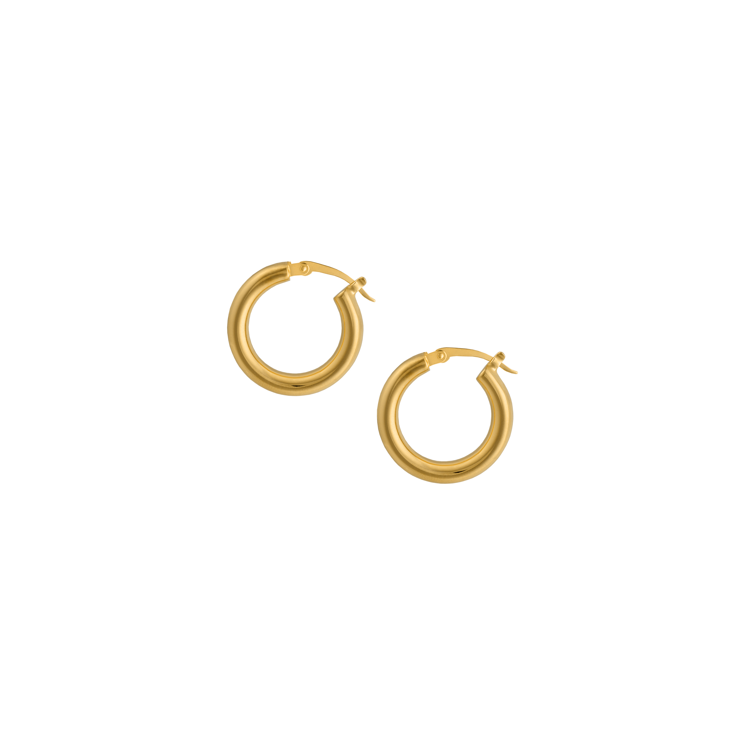 Hoops Medium Gold