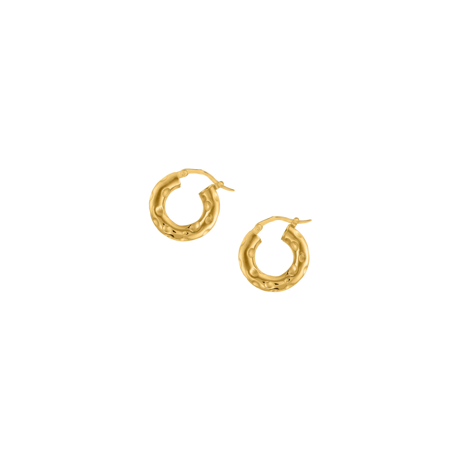Hoops Facture Gold