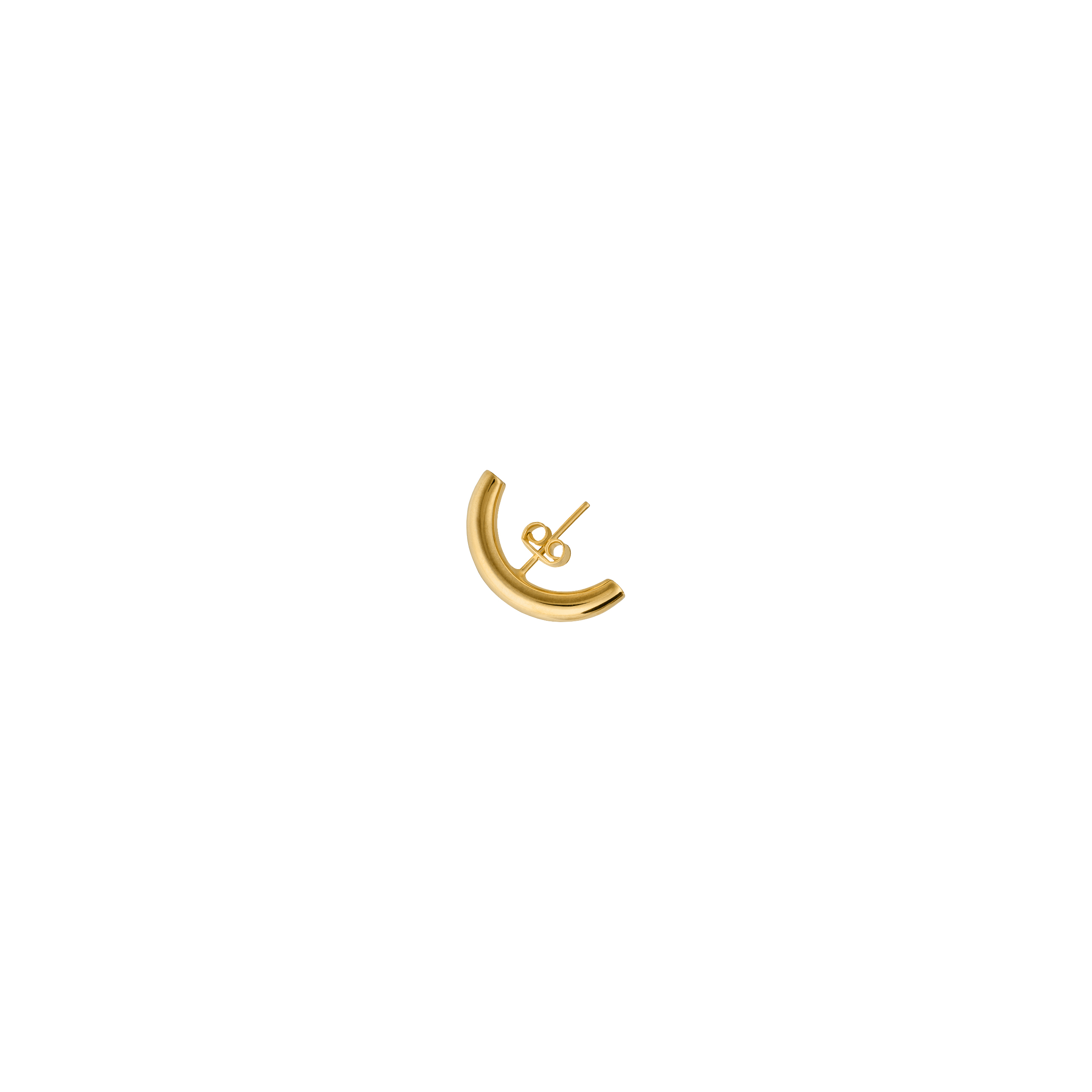 hoop earring /gold
