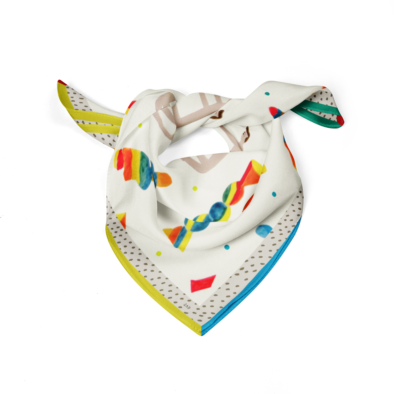 para- jad scarf