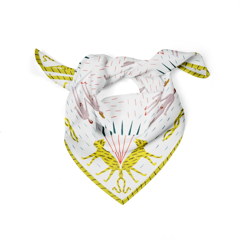 tropiki- jad scarf