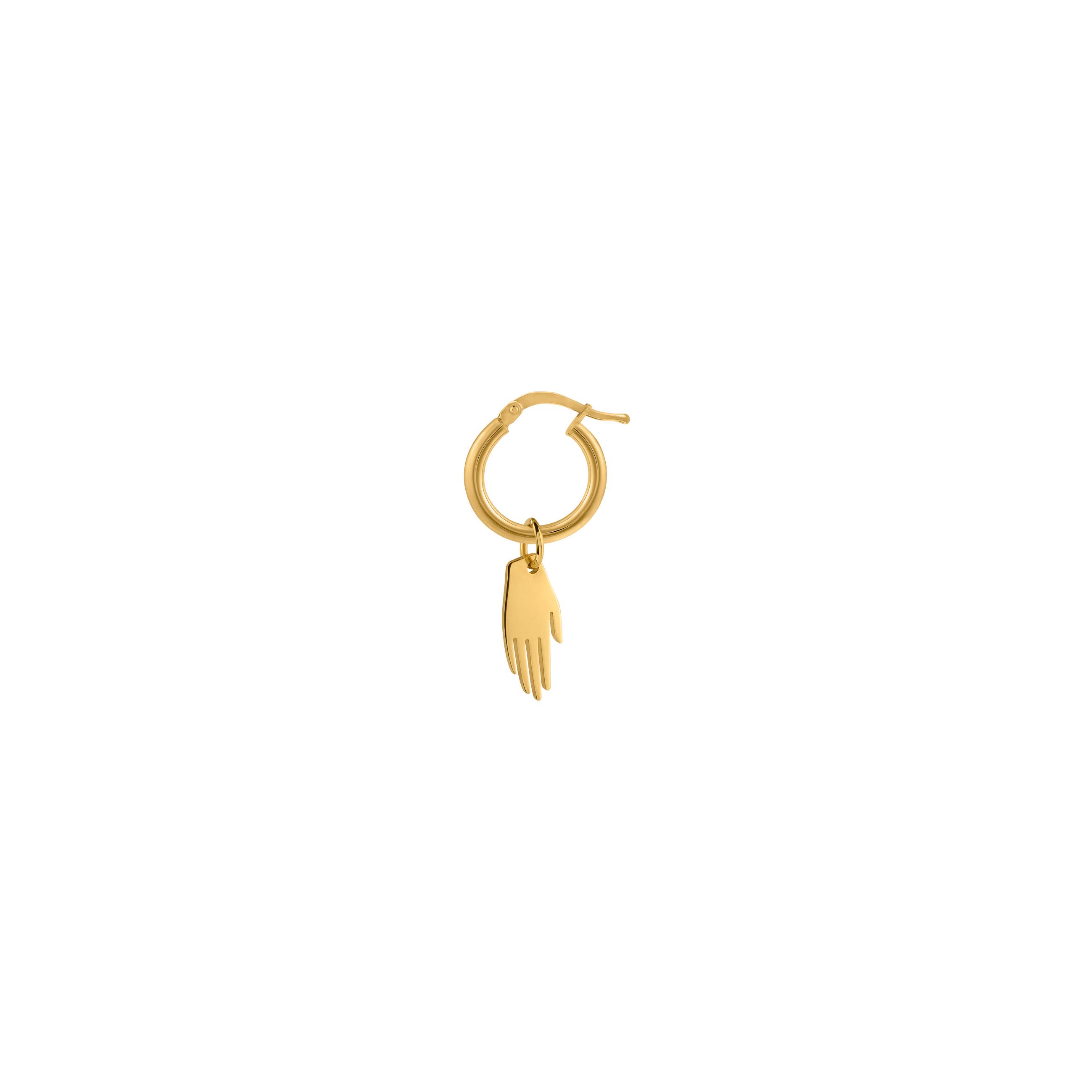 Mini Circle Hand Gold