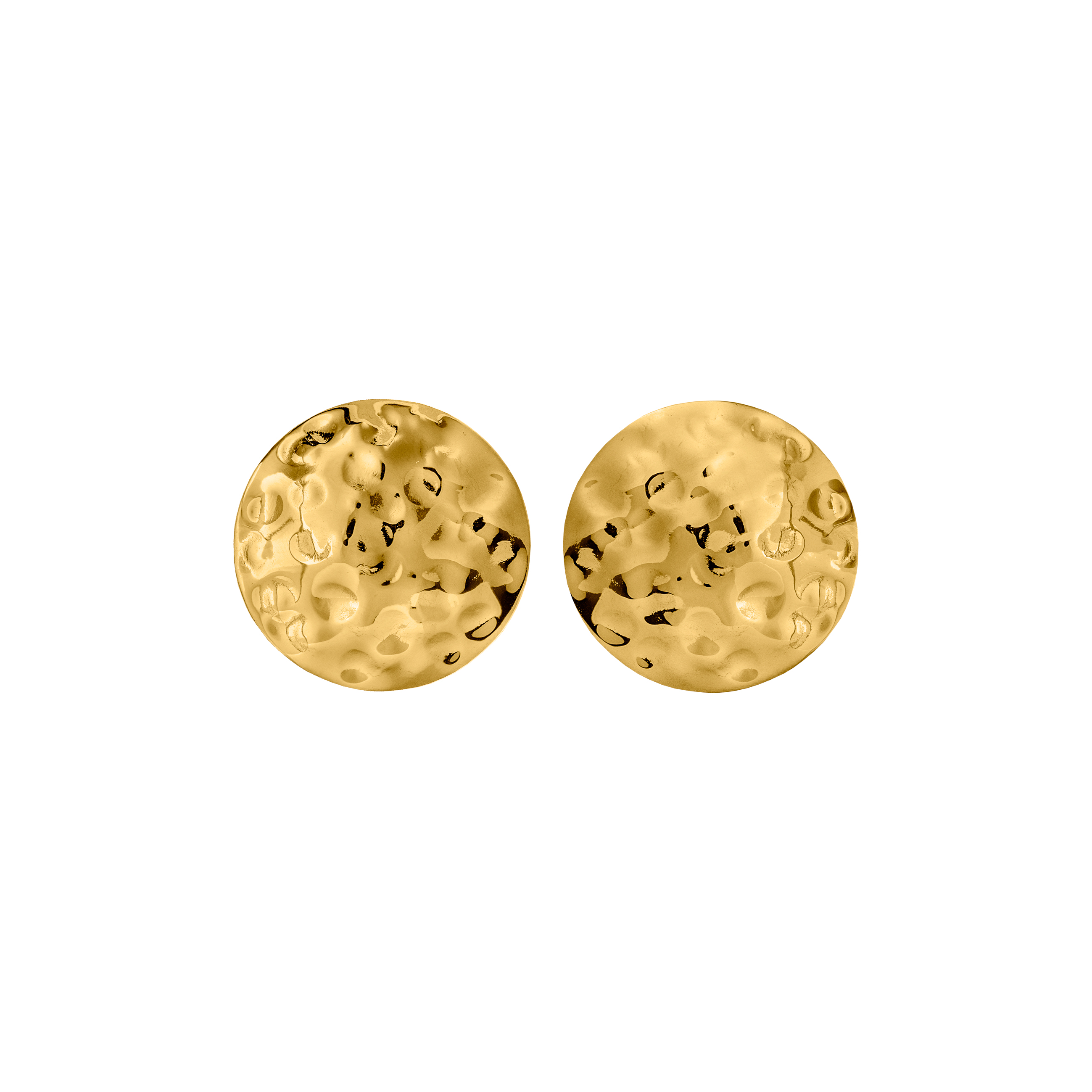 EARRINGS GOLD FACTURE