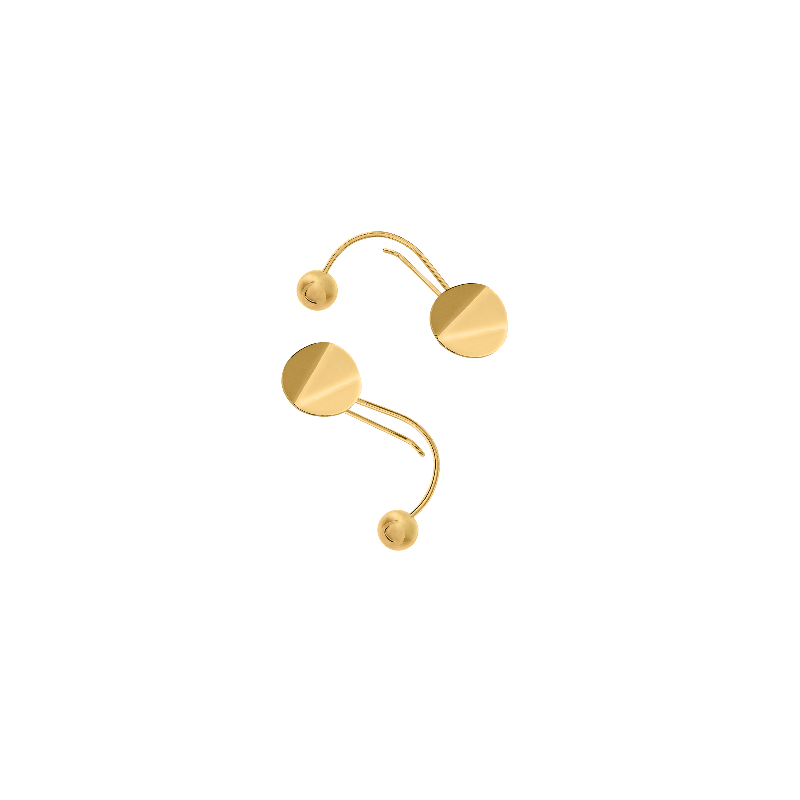 MOBILE GOLD- EARRING