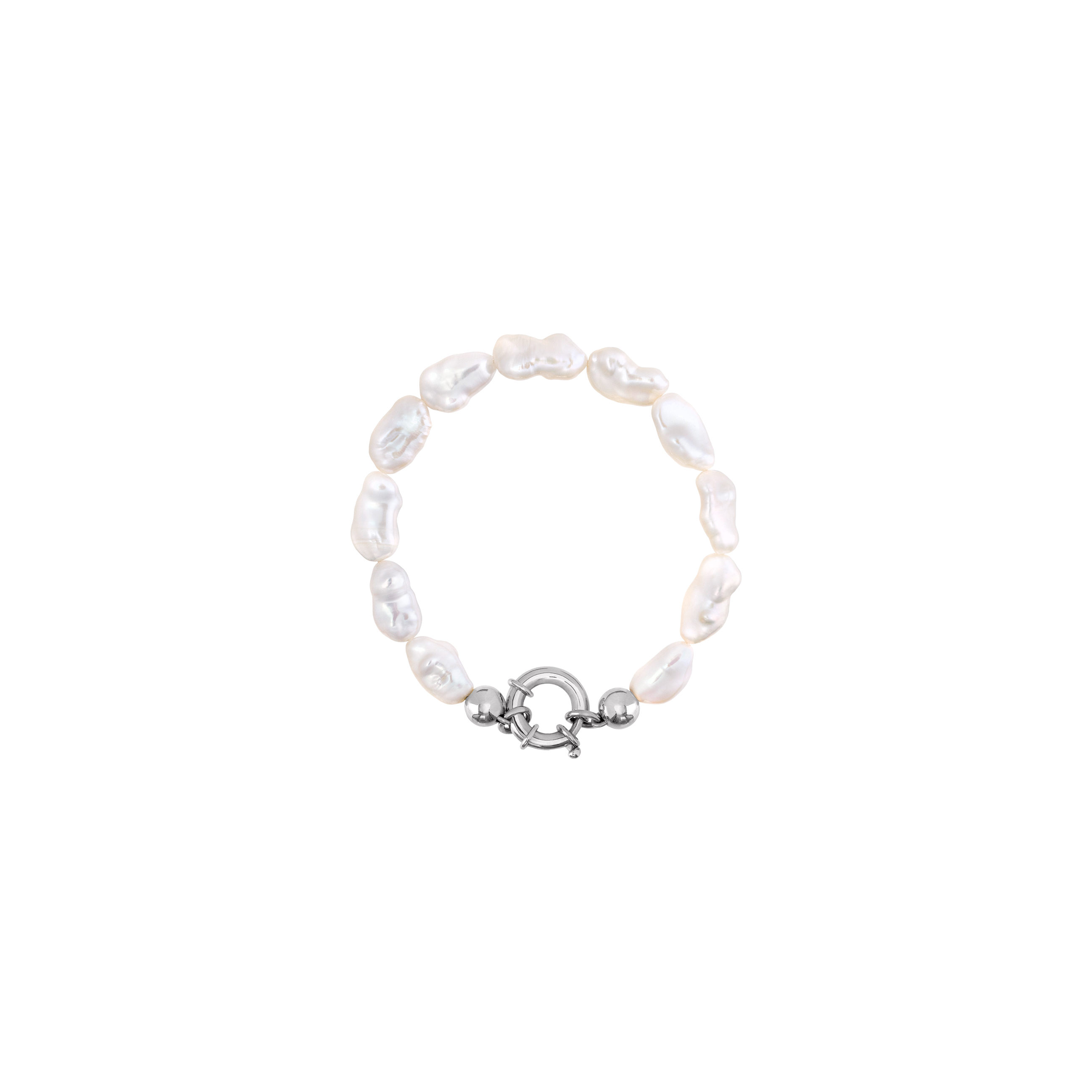pearl bracelet/silver