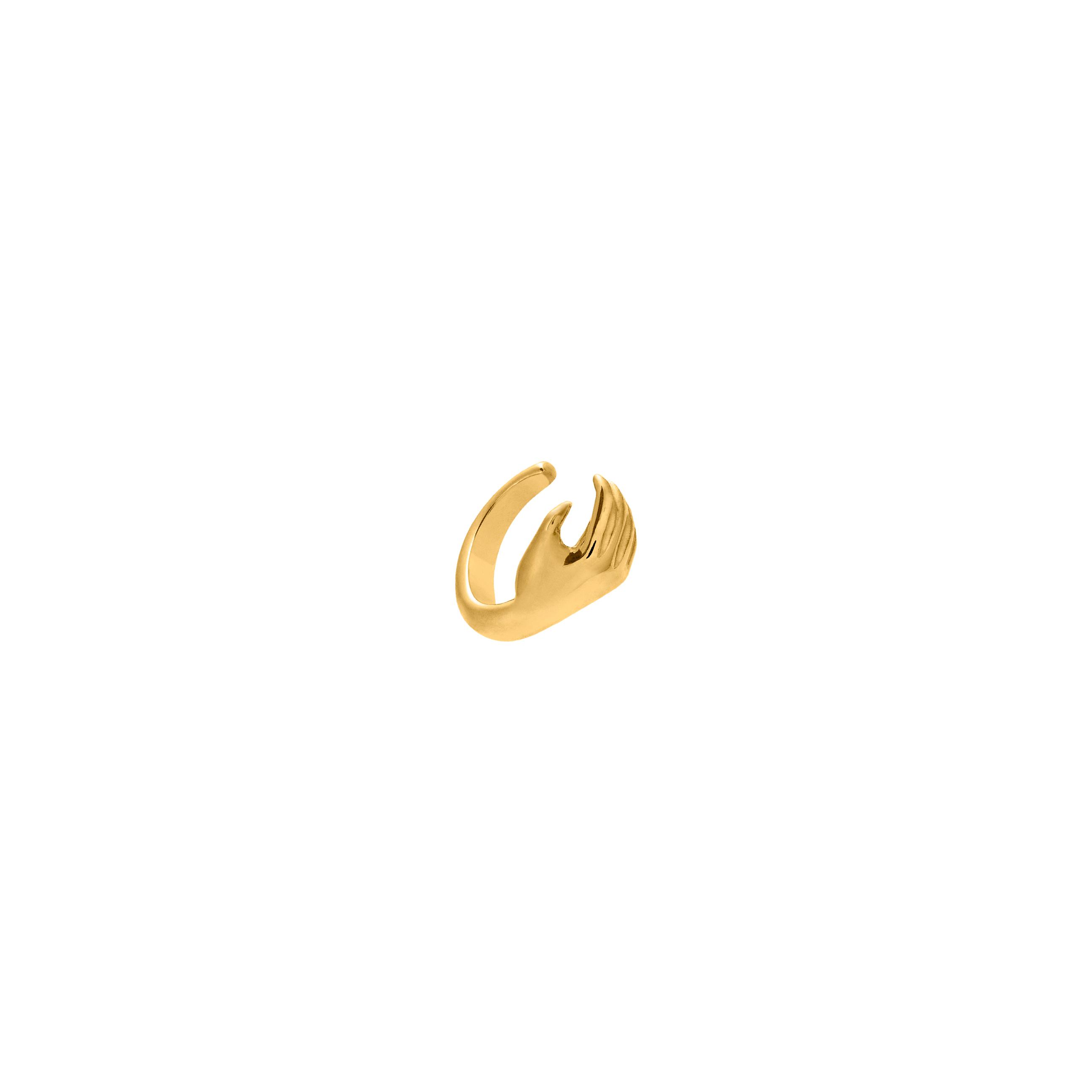 Nausznica Hand Gold