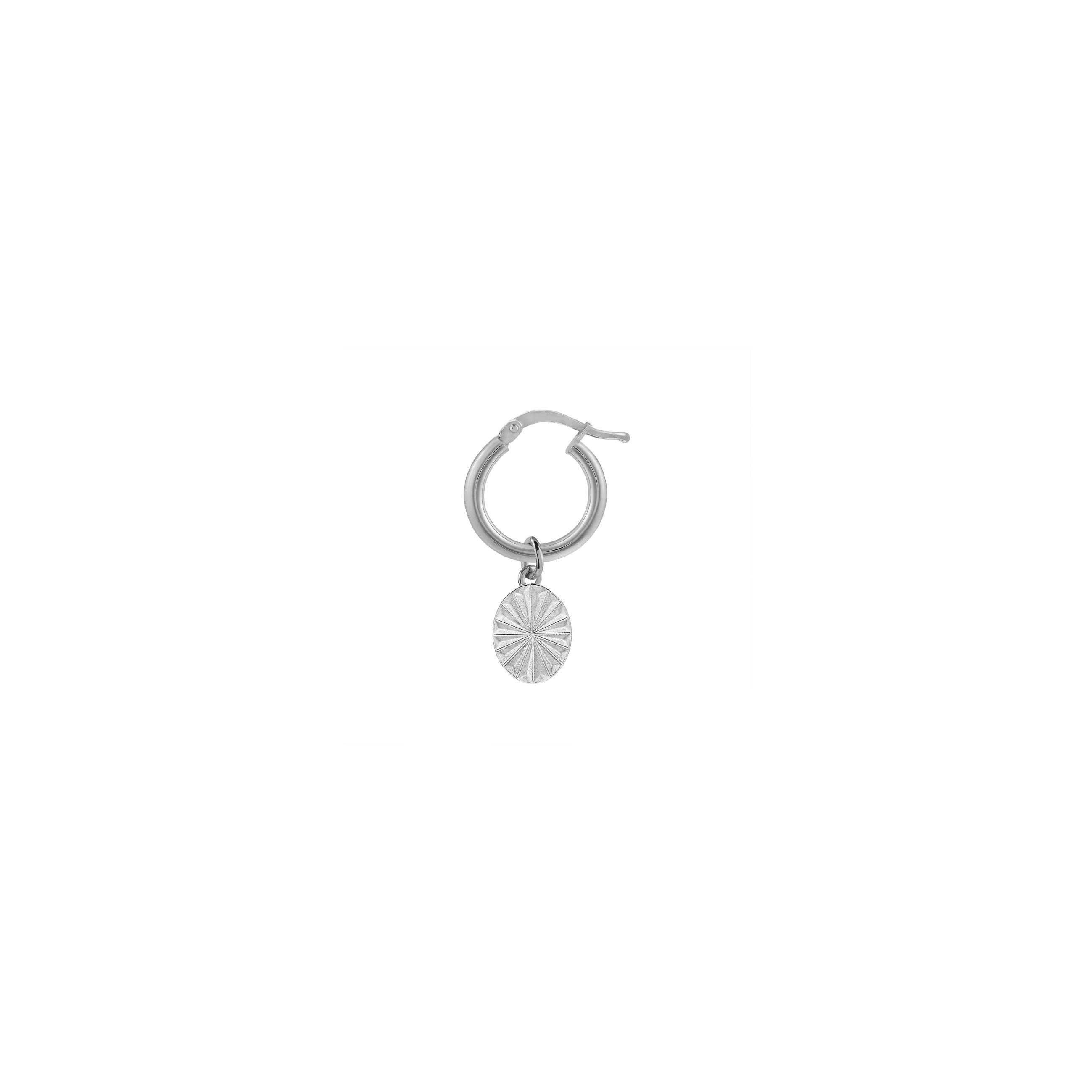 mini circle vintage / silver