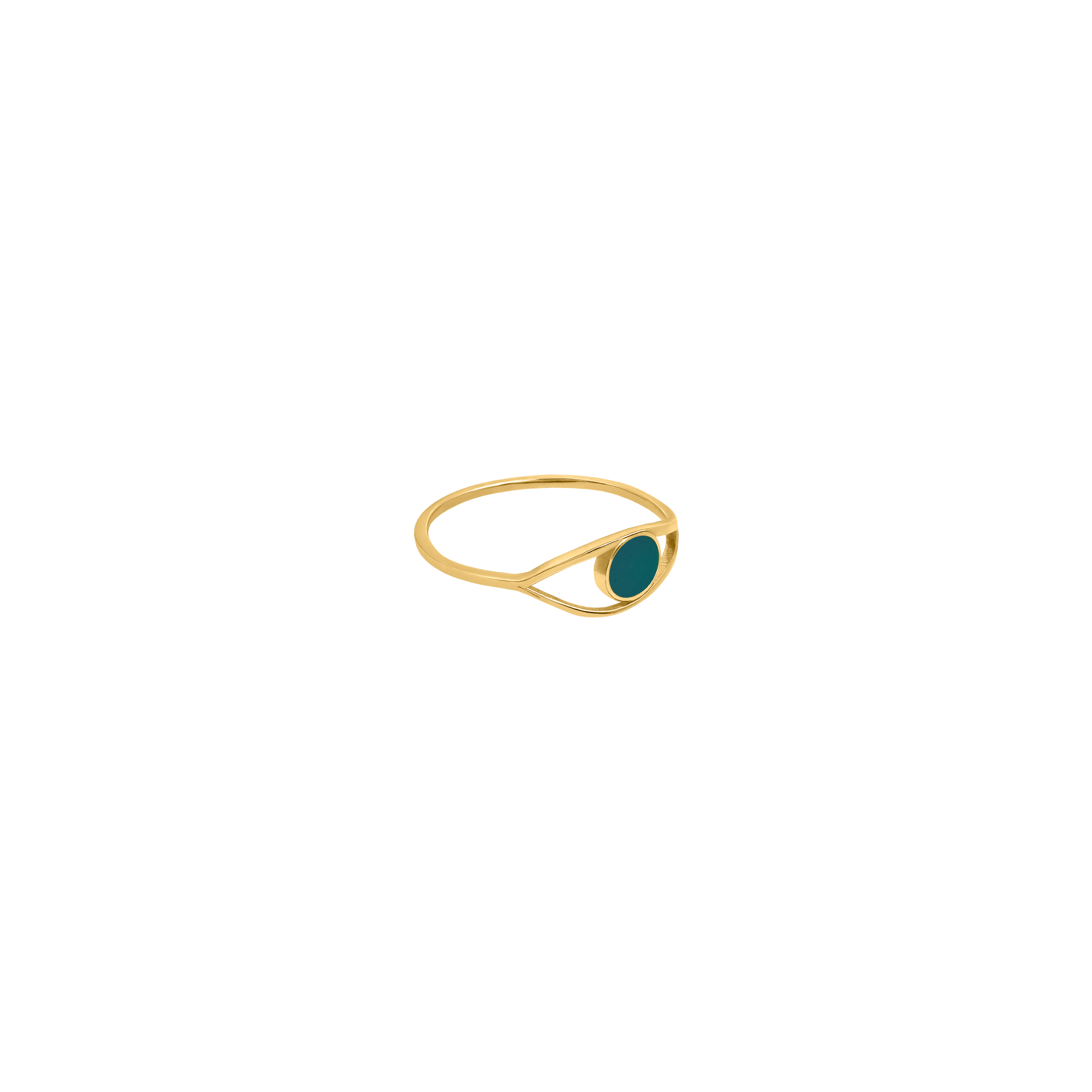eye ring 2/ green