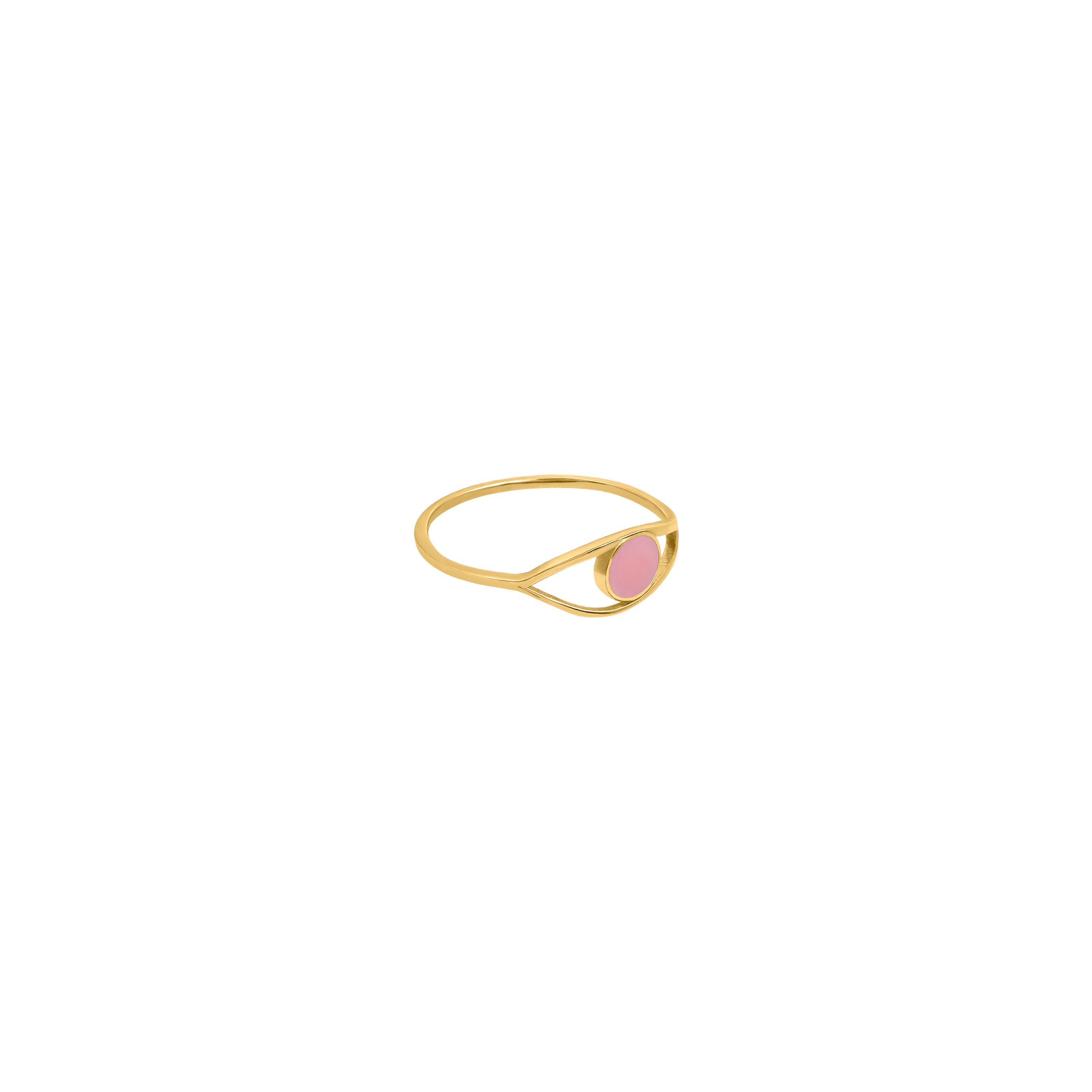 eye ring/ pink