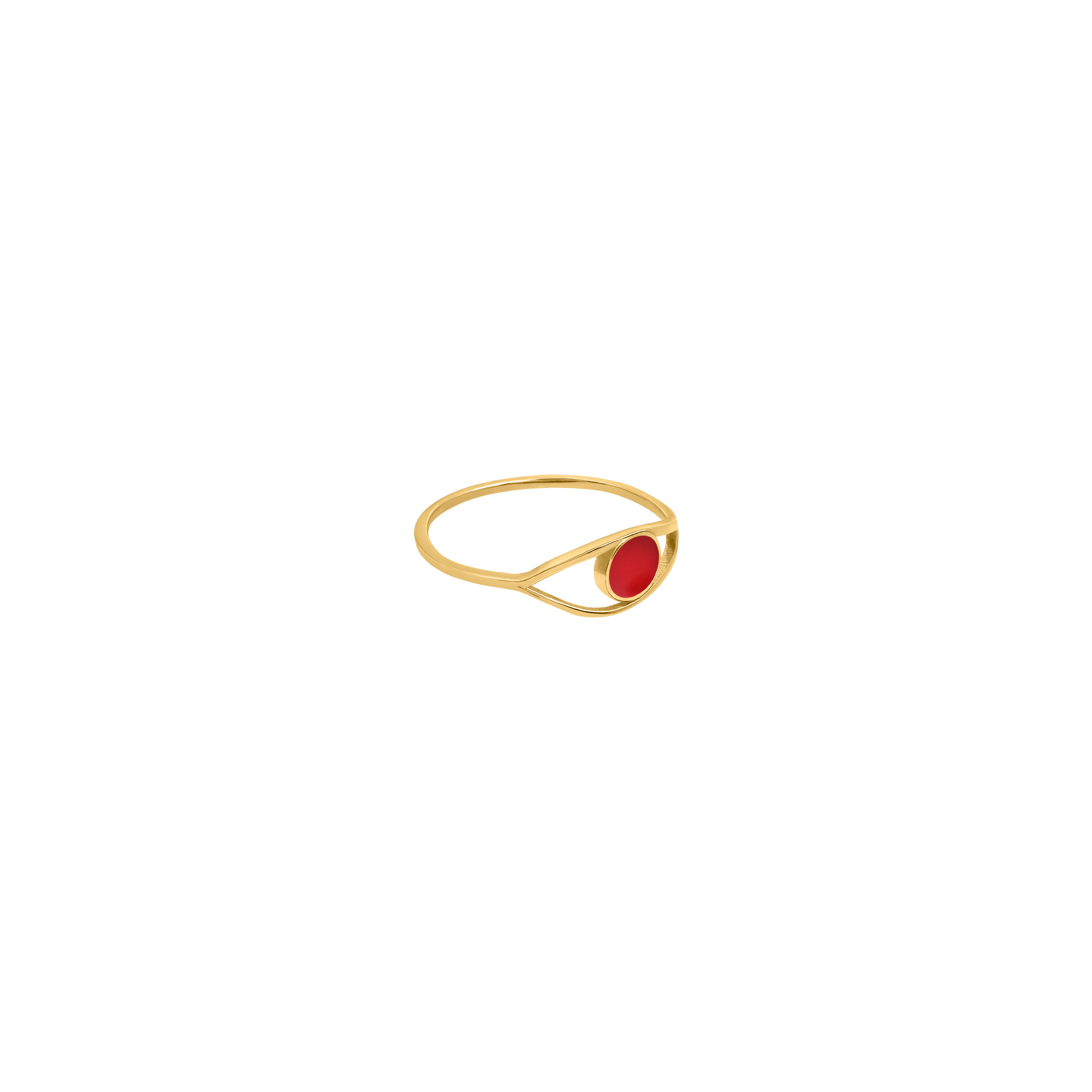 eye ring 2/ red