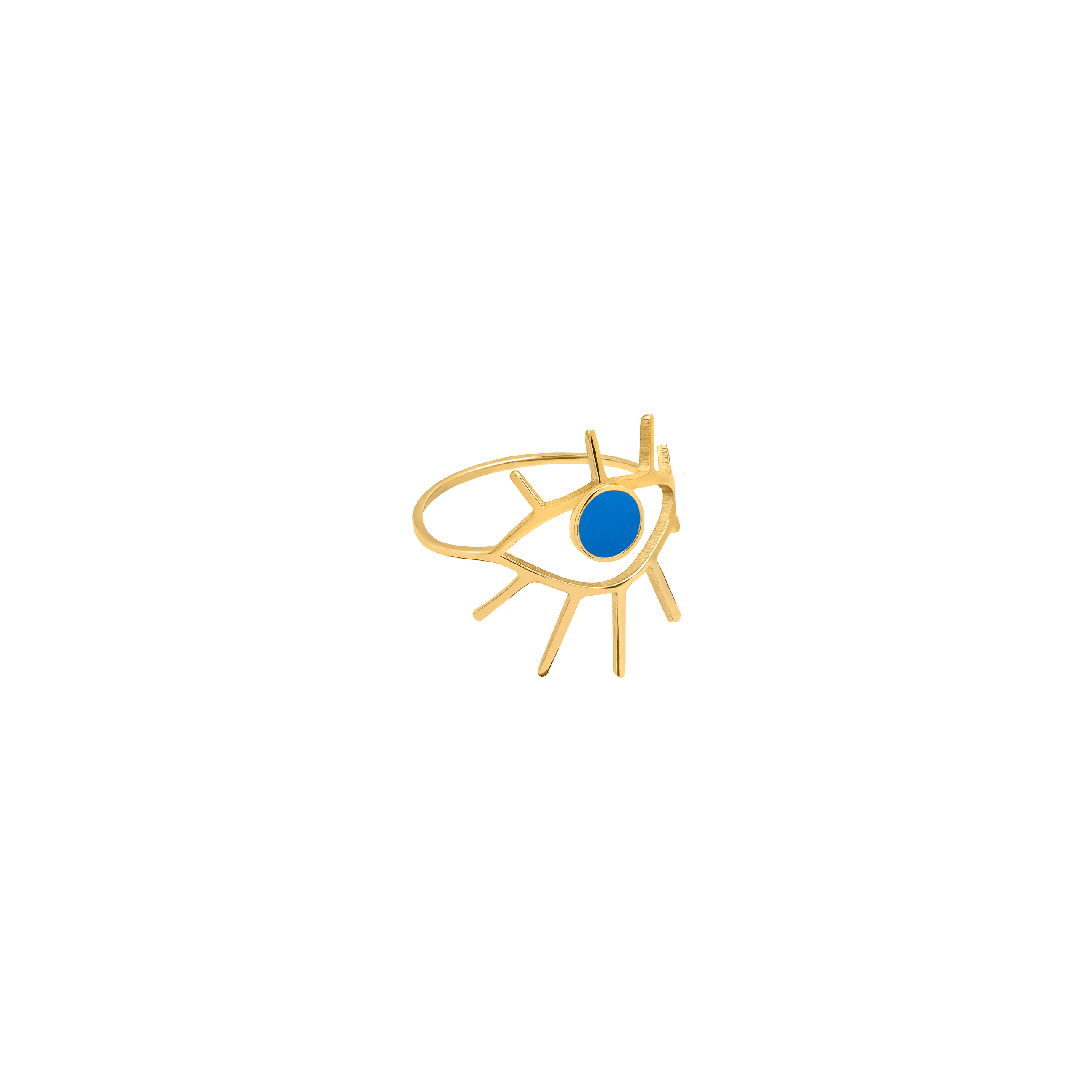 Eye Ring 1 Blue