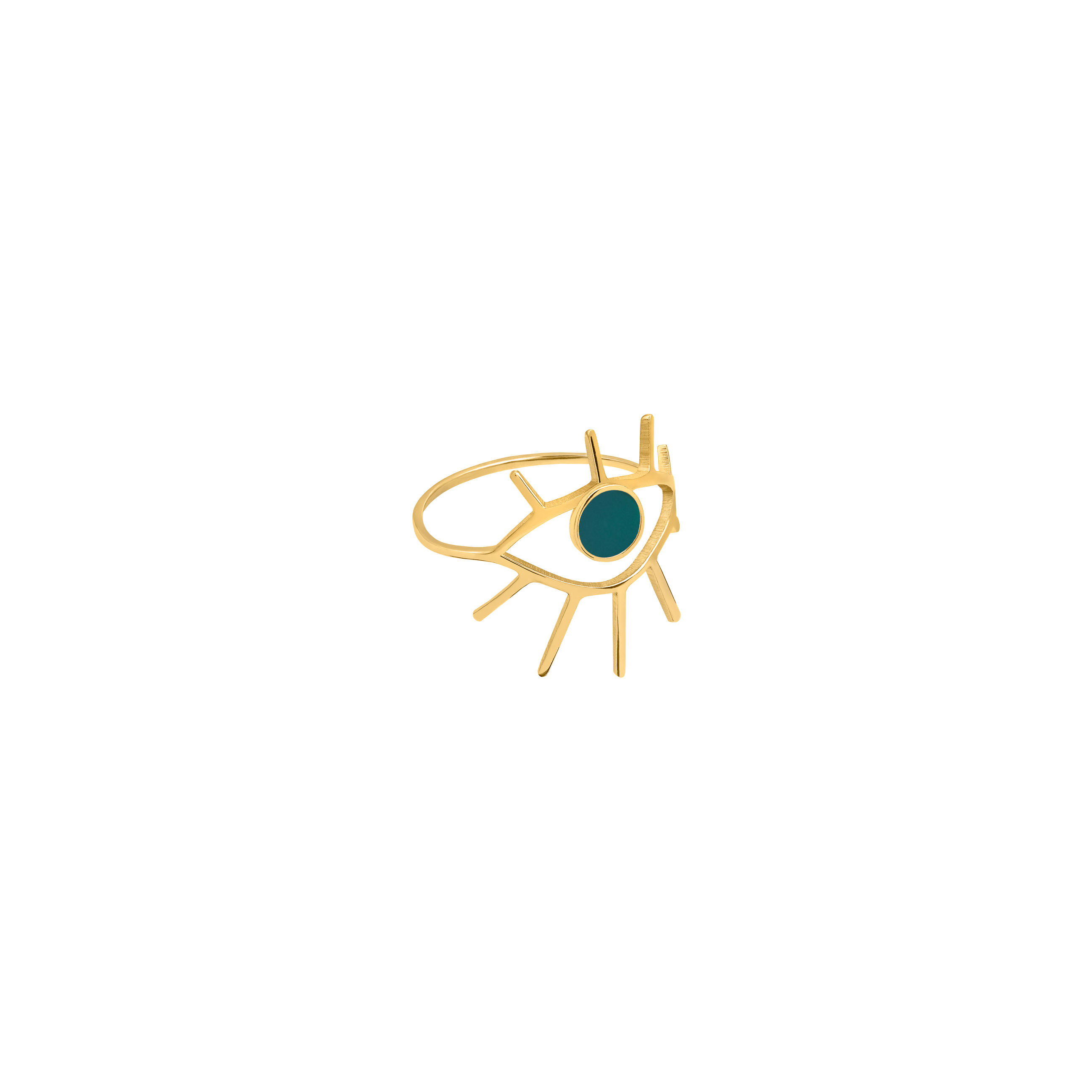 eye ring 1/ green