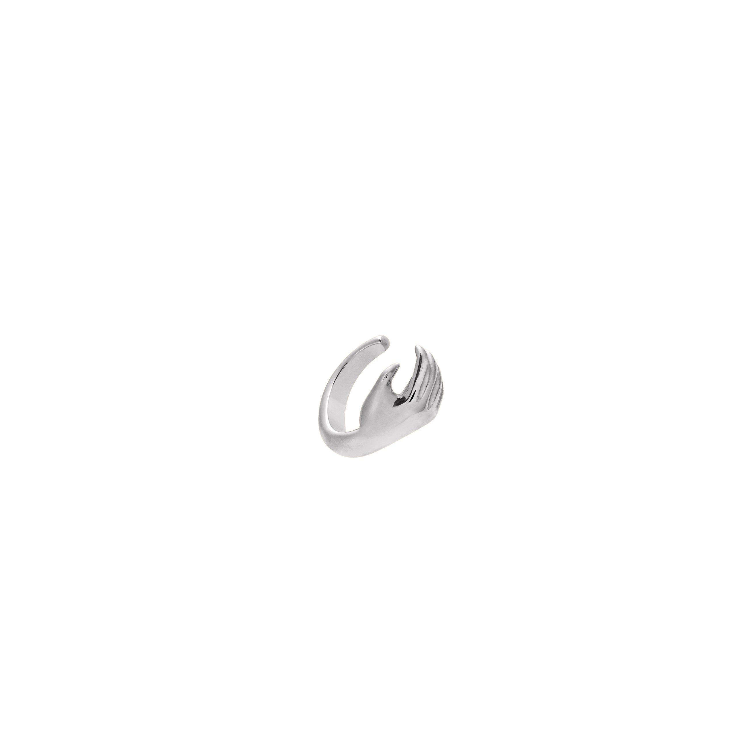 Nausznica Hand Silver
