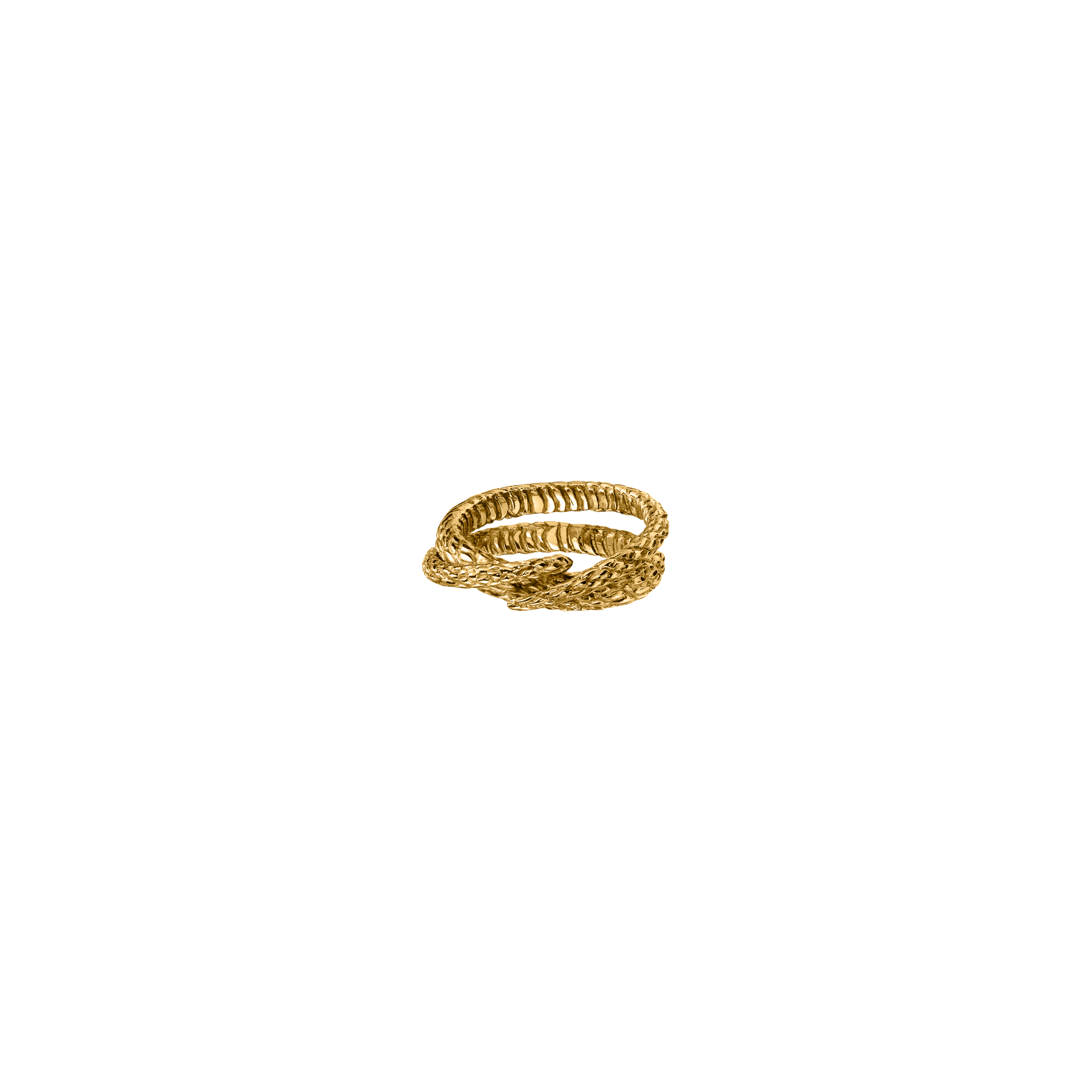 Snake Ring 2 Gold