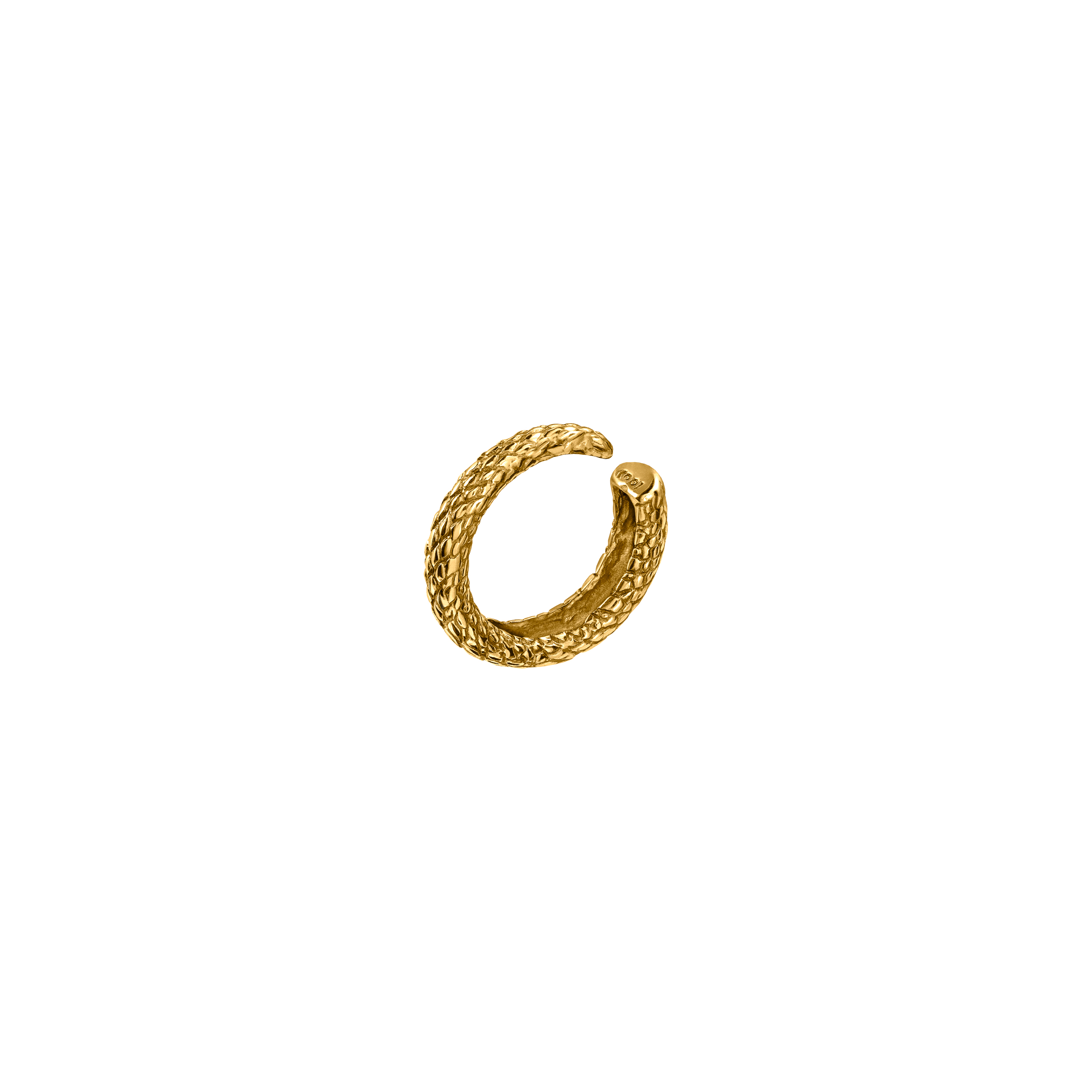 Snake Ear Cuff Gold