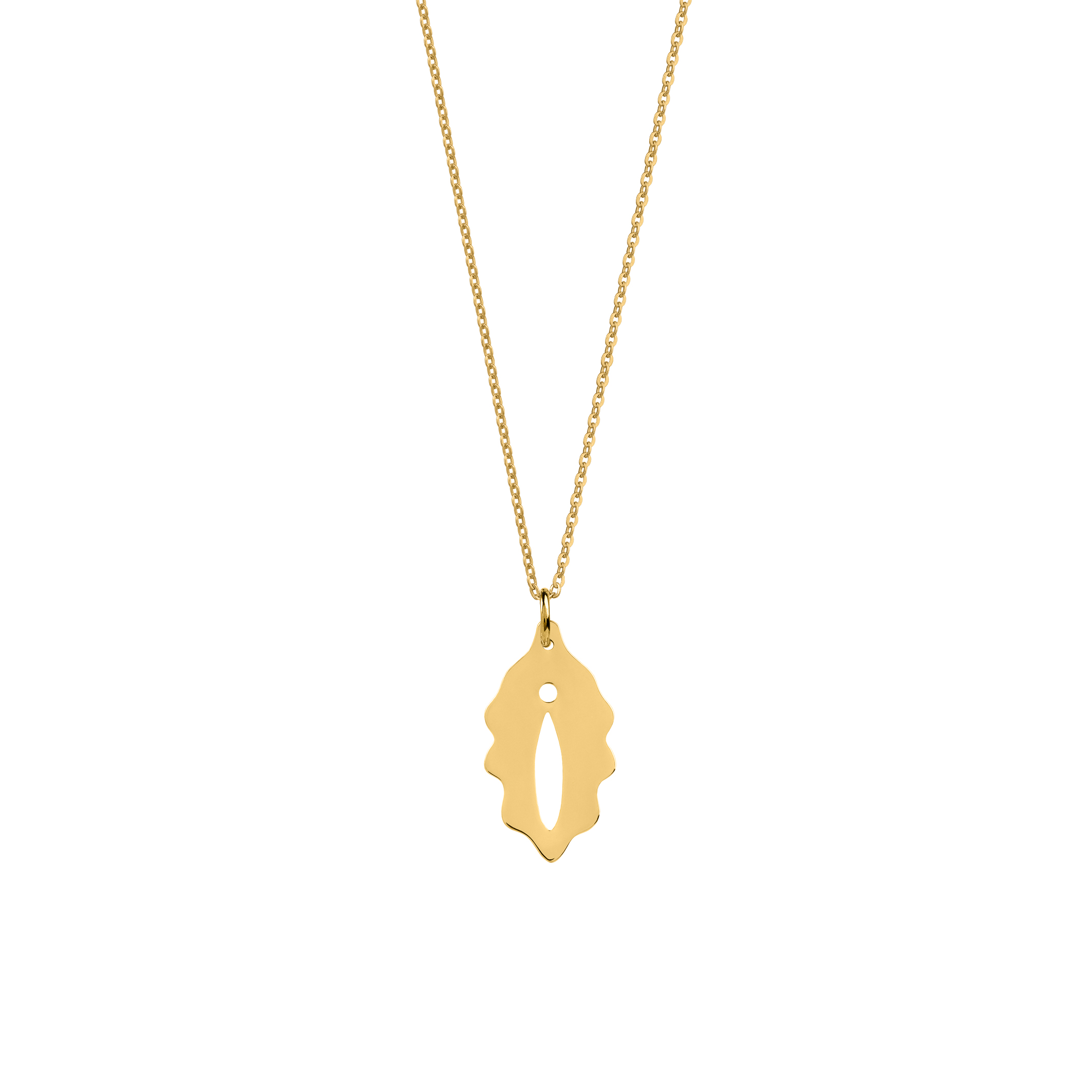 limited edition/ féminin necklace gold