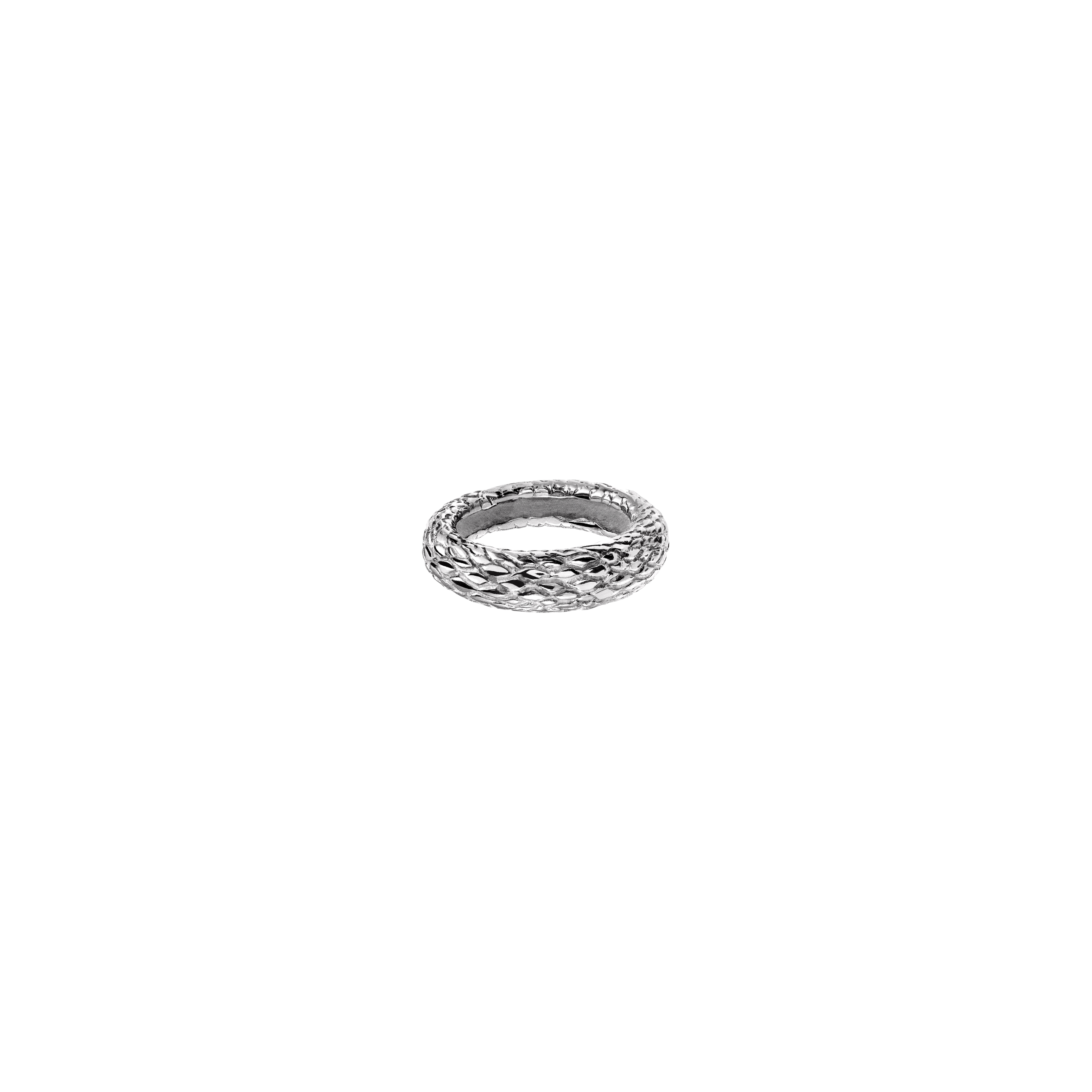 Snake Ring 1 Silver EN