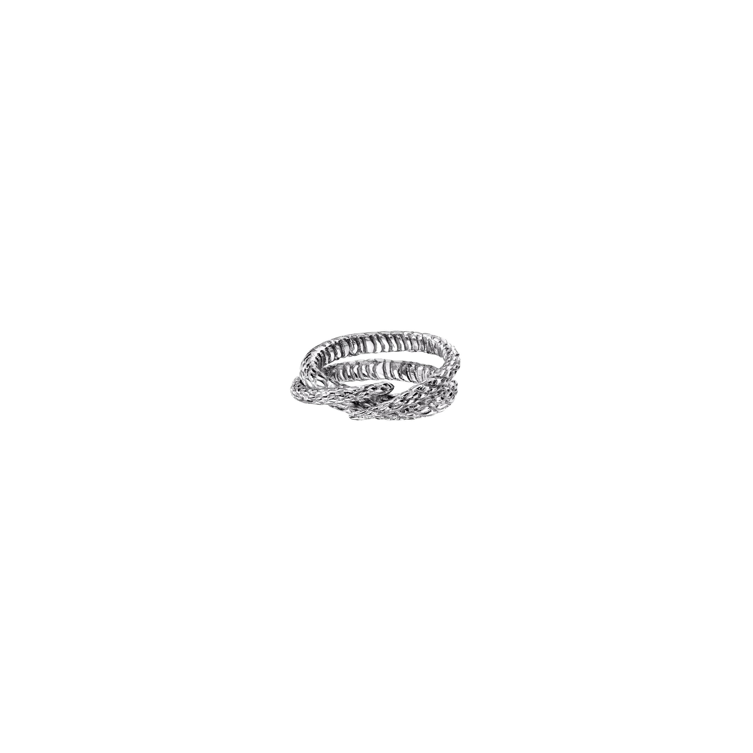 snake ring 2/ silver