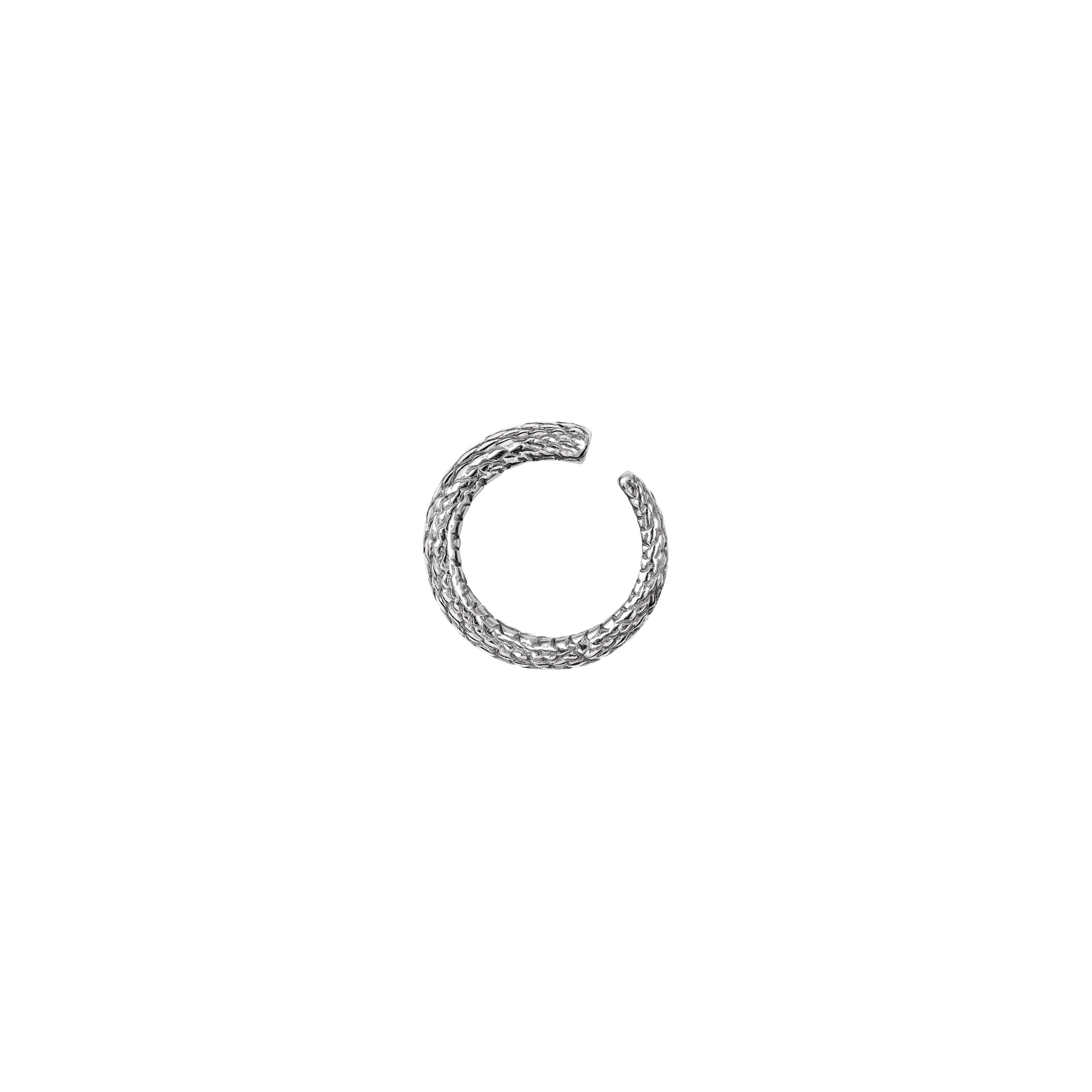 snake ear cuff/ silver