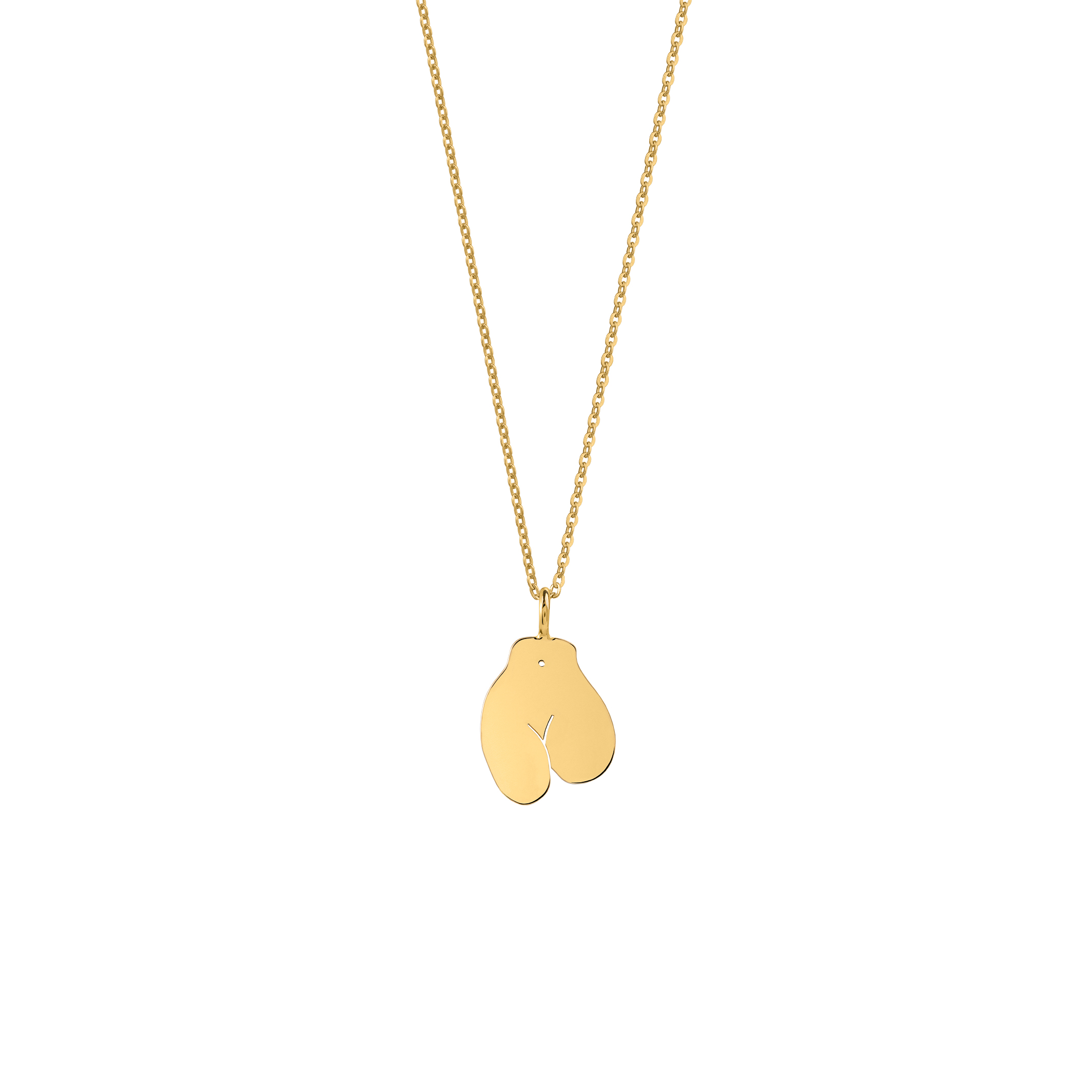 limited edition/ féminin 2 necklace gold
