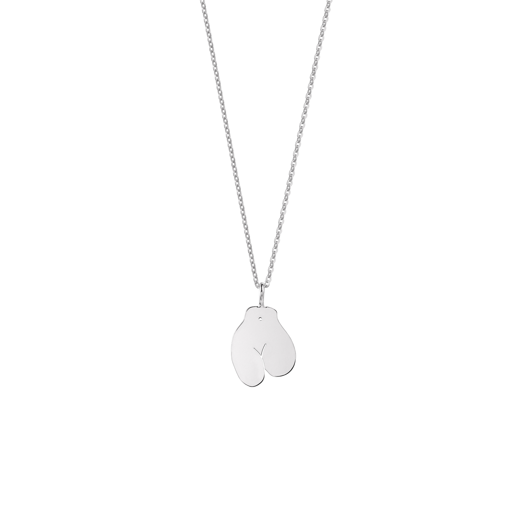Limited Edition / Féminin 2 Necklace Silver