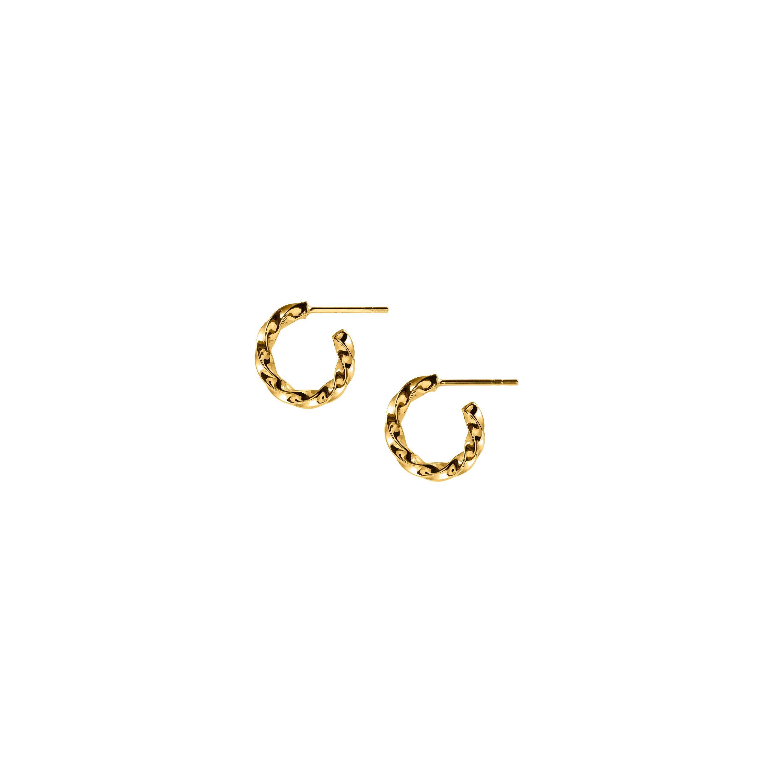 Hoops Mini Twist Gold