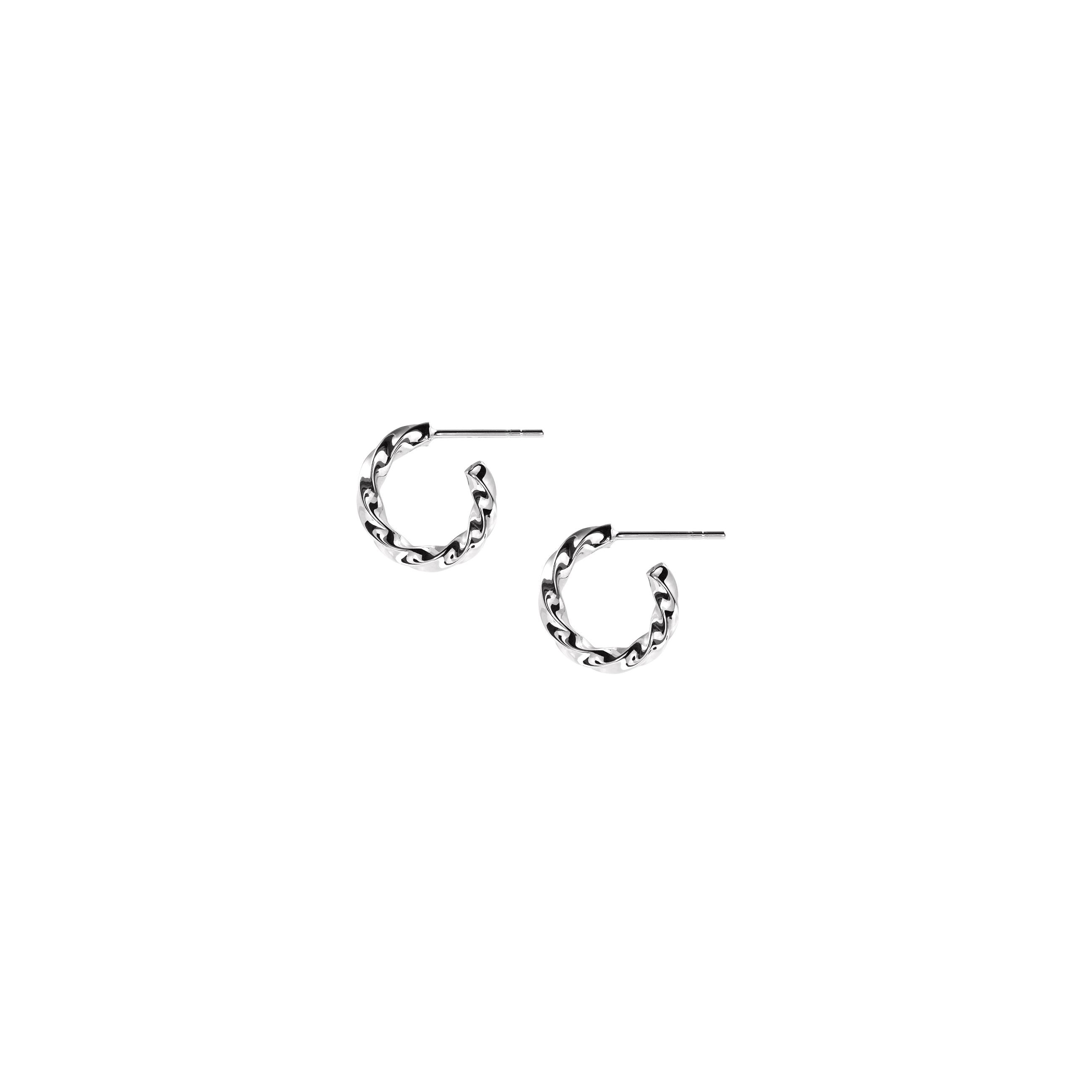 Hoops Mini Twist Silver