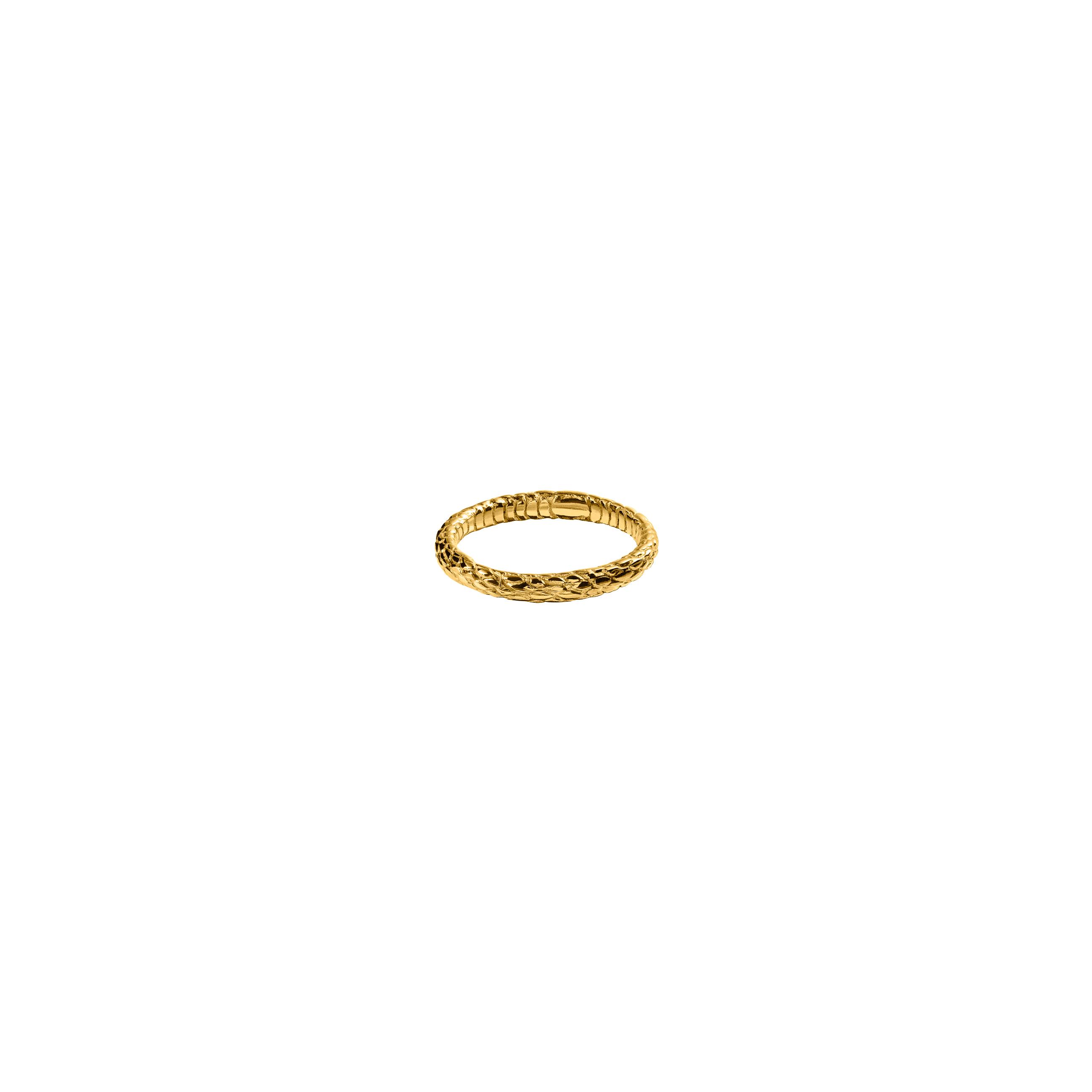 snake ring 3/ gold
