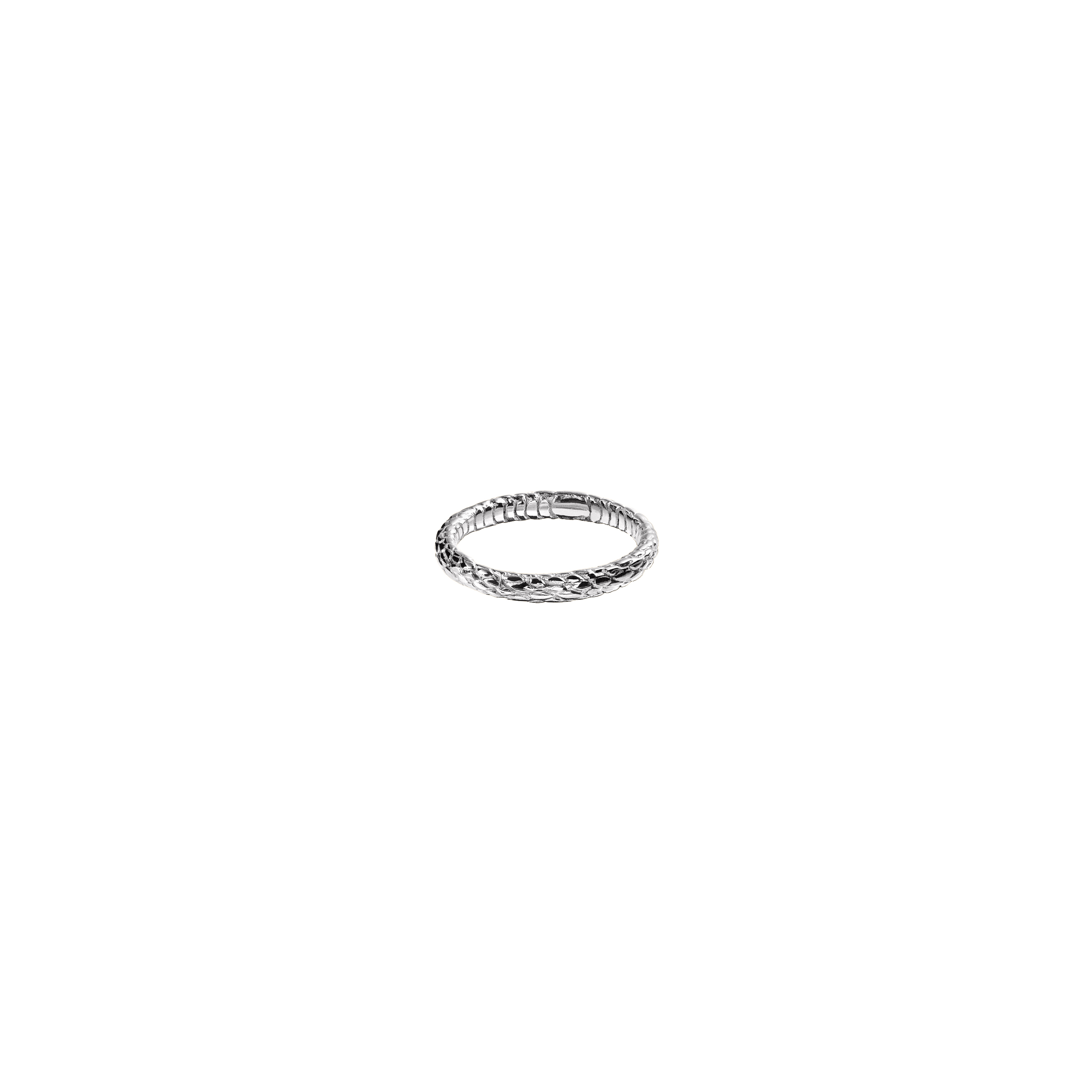 snake ring 3/ silver