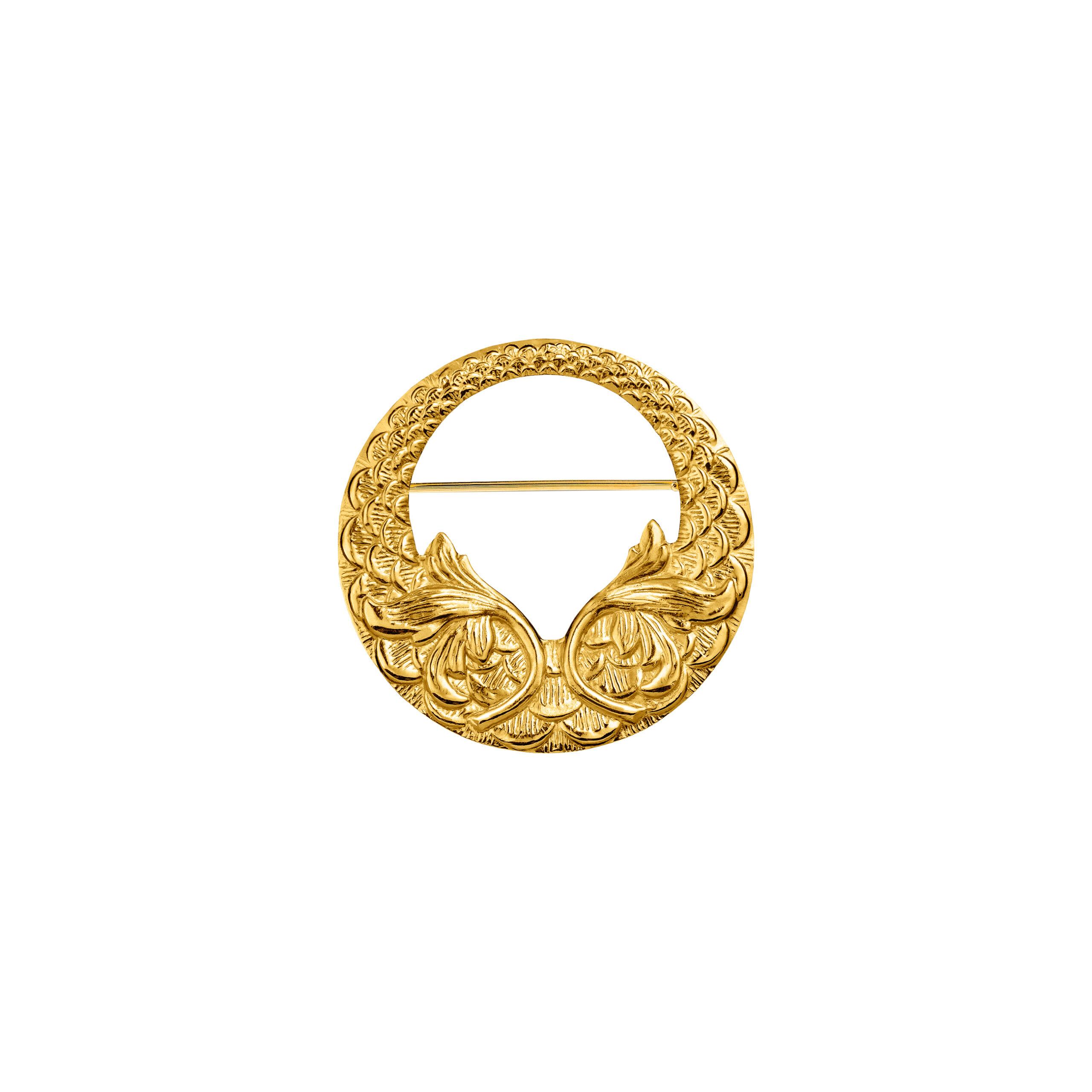 Broszka Grandma Gold