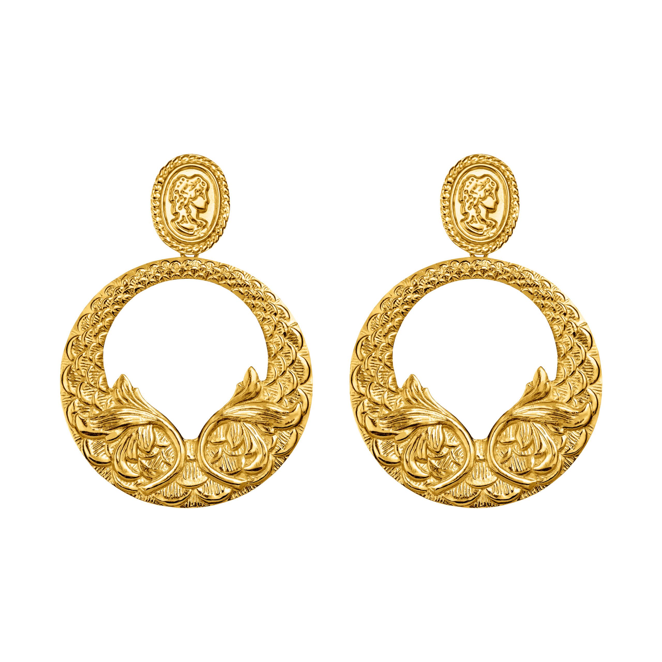 Kolczyki GRANDMA /gold