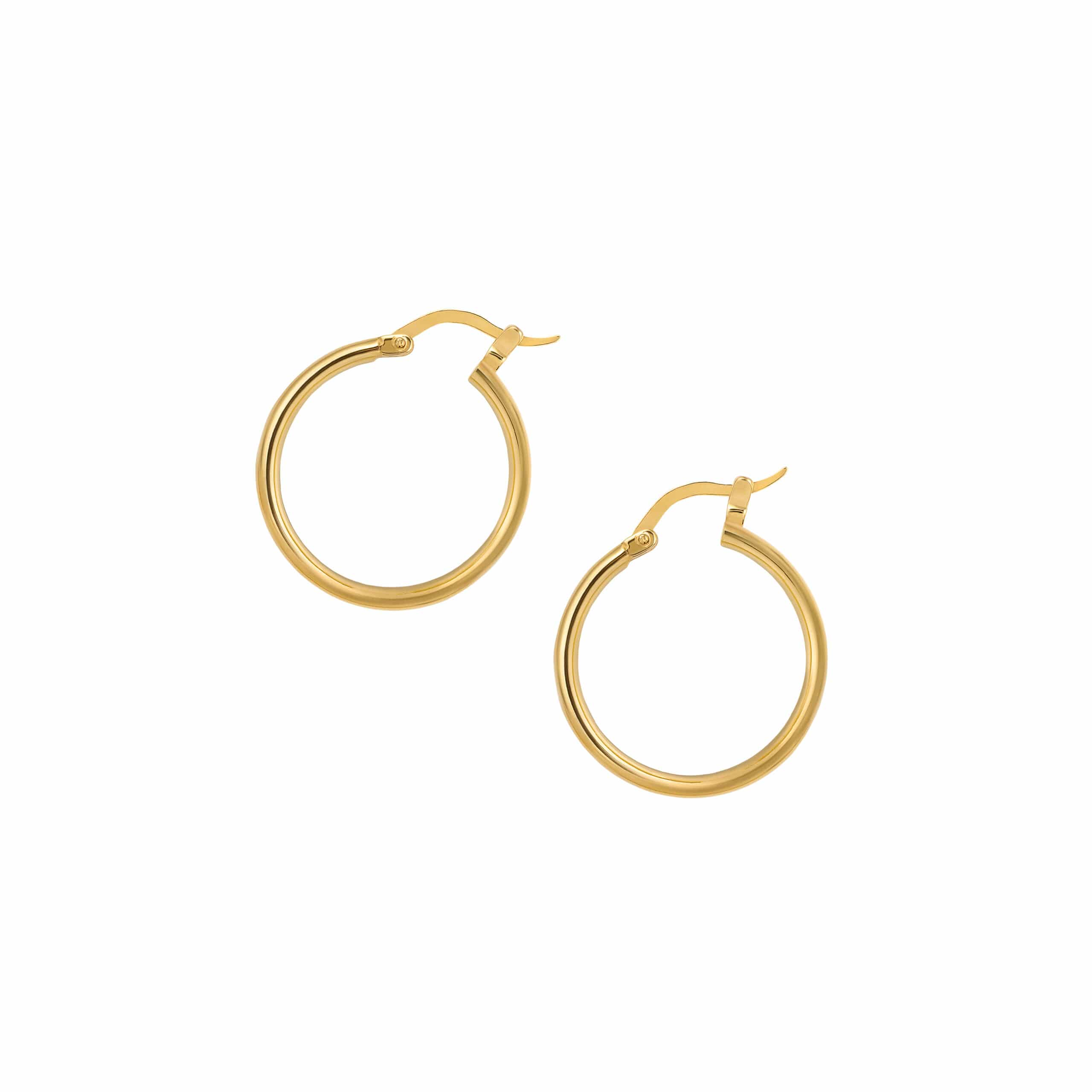Hoops Simple Medium Gold