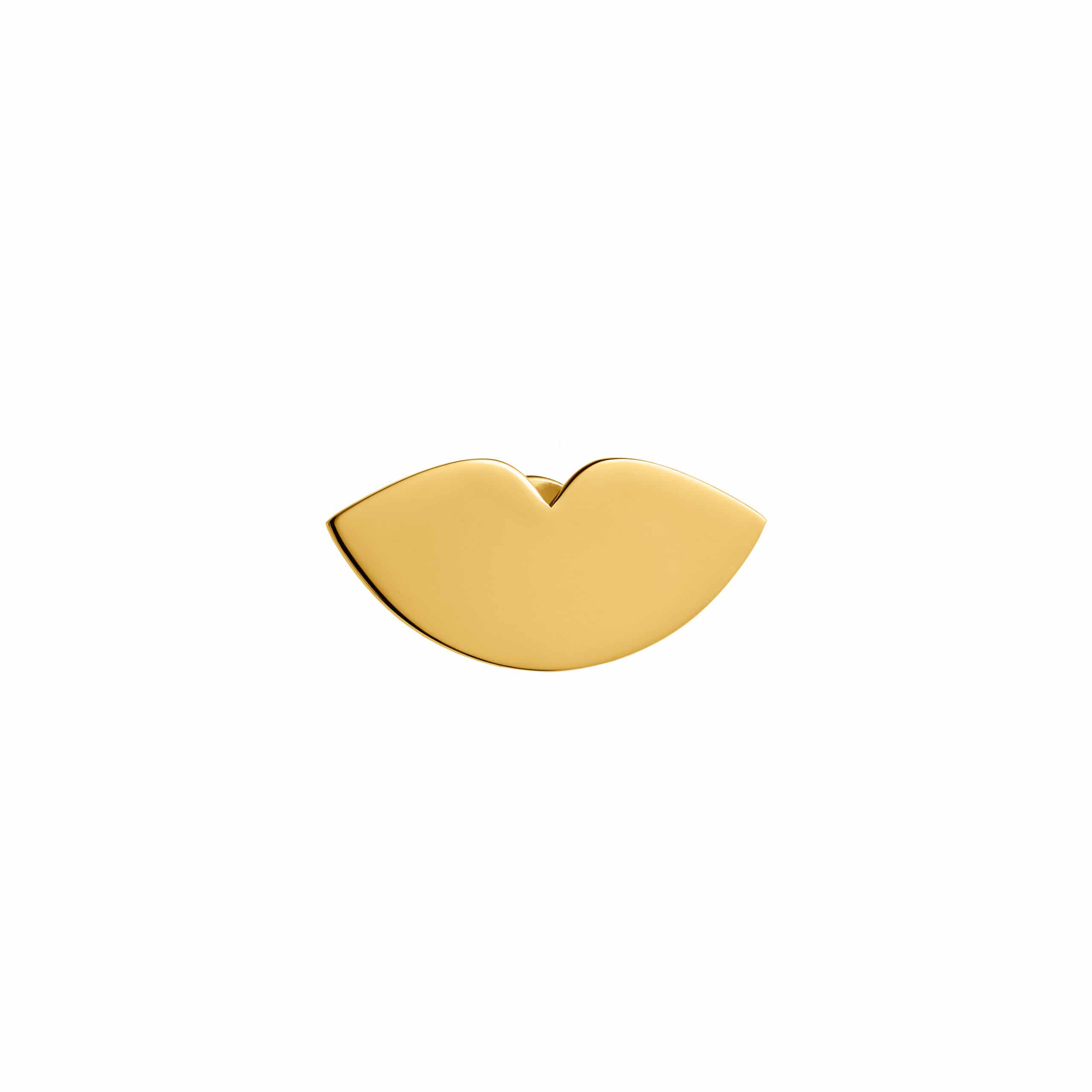 Lips Pin Gold