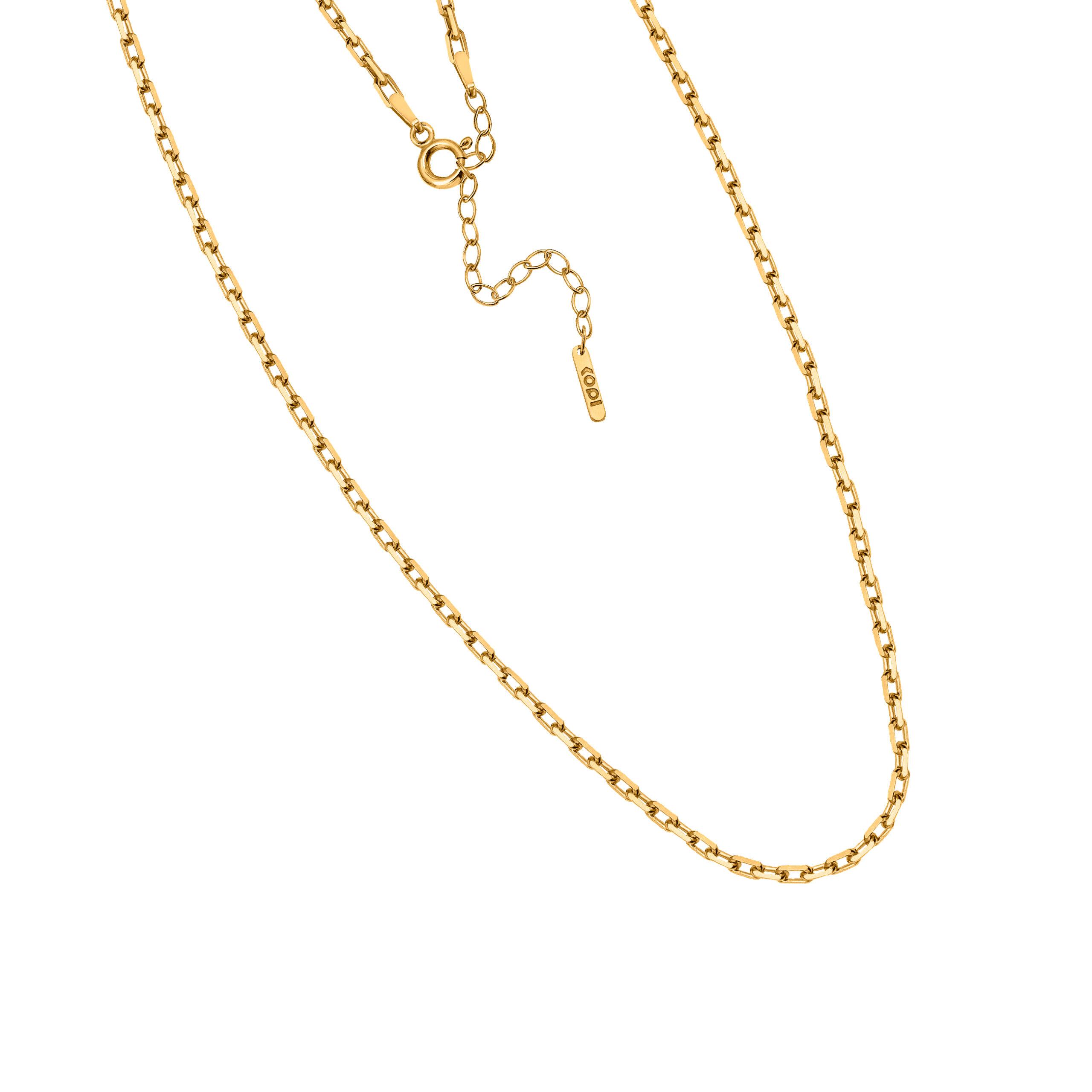 regulowany łańcuszek /gruby / gold