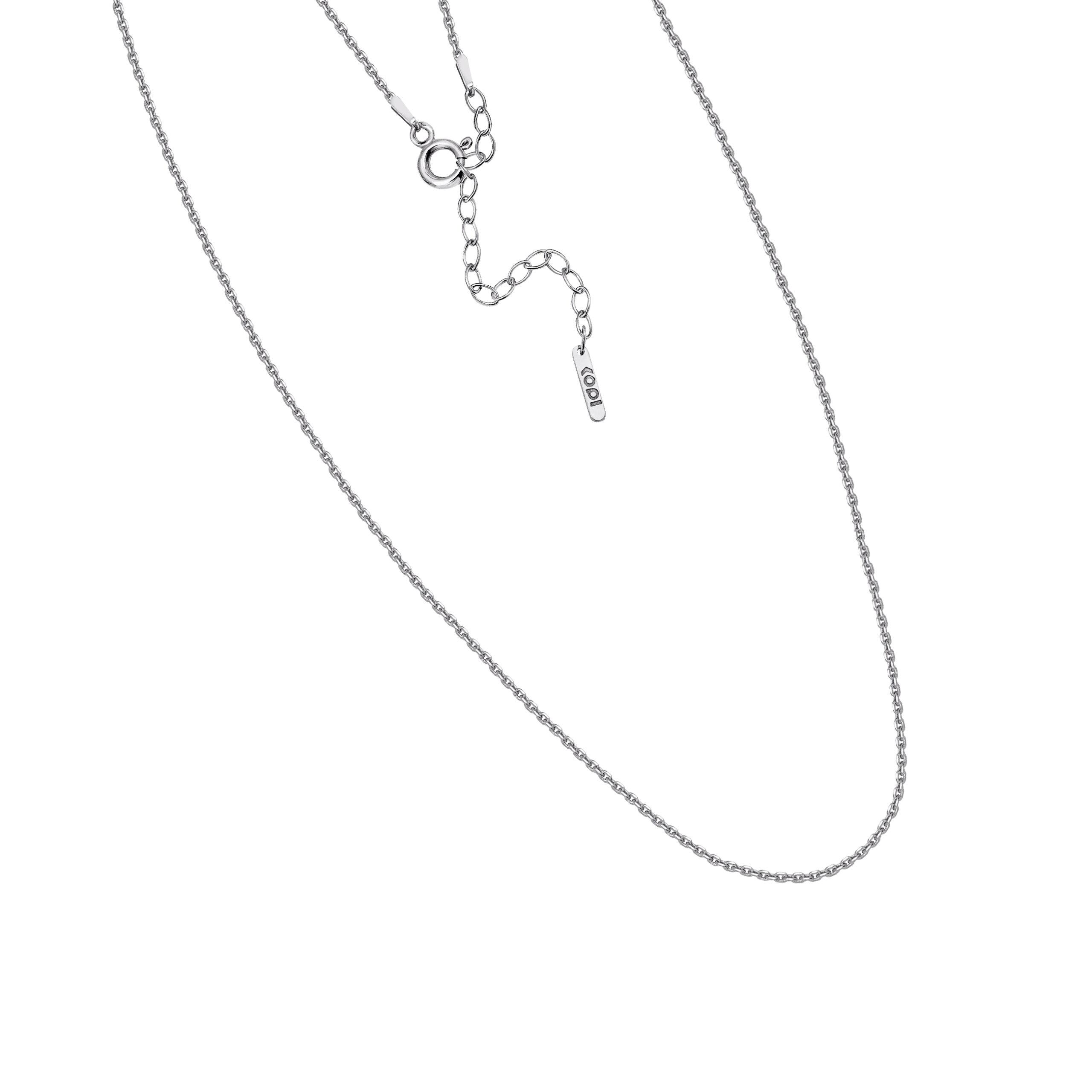regulowany łańcuszek / cienki /silver