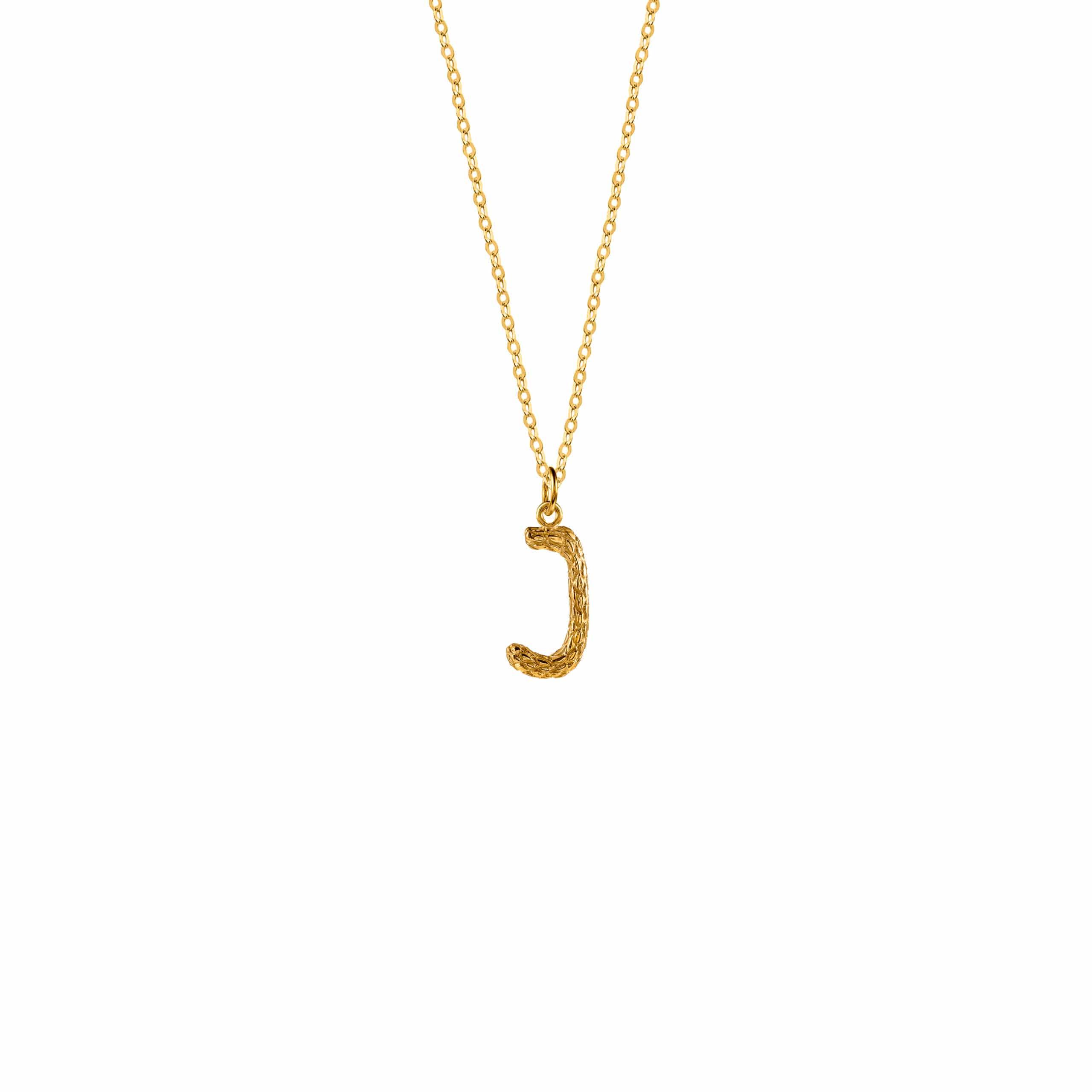 Naszyjnik z Literką I Gold