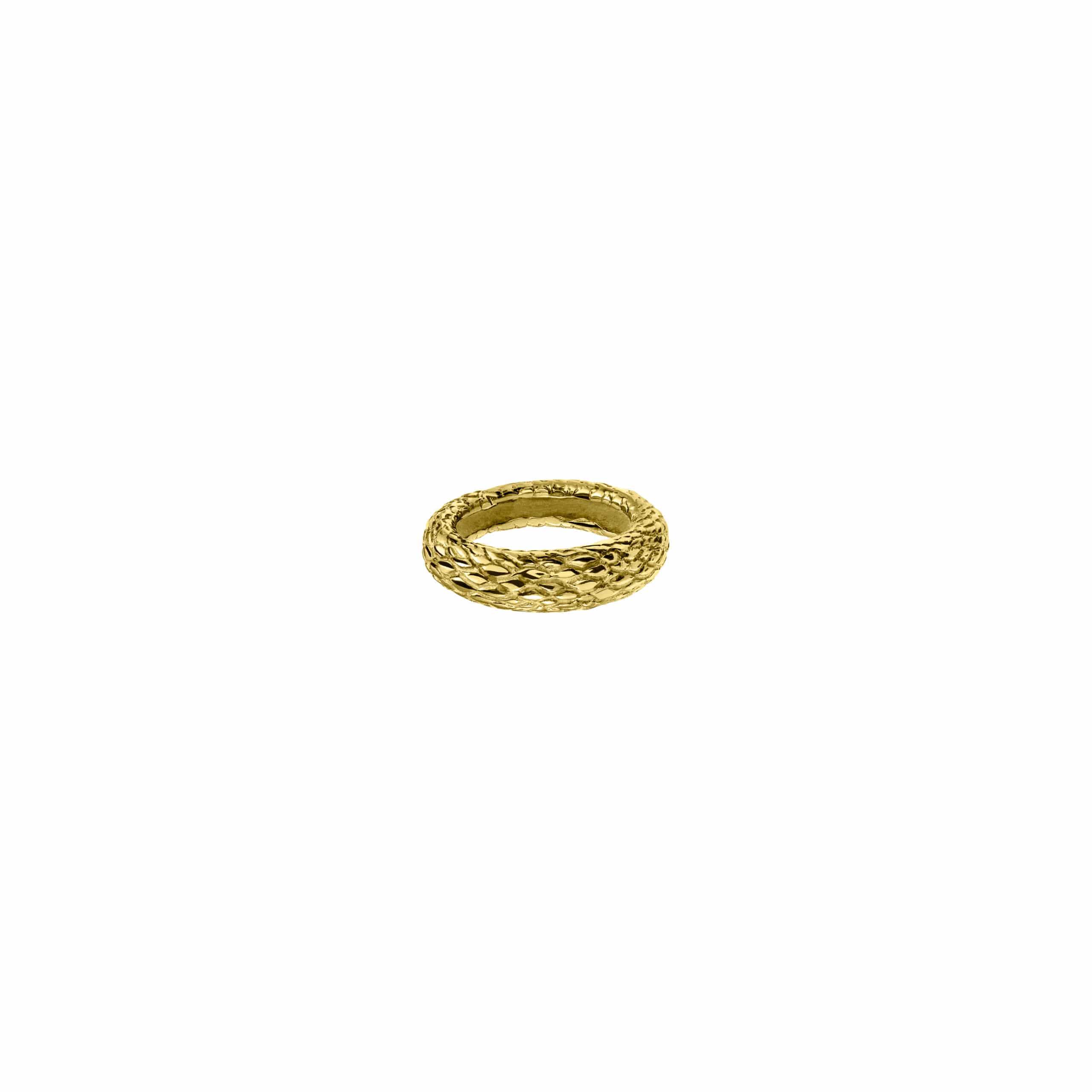 Snake Ring 1 Mosiądz