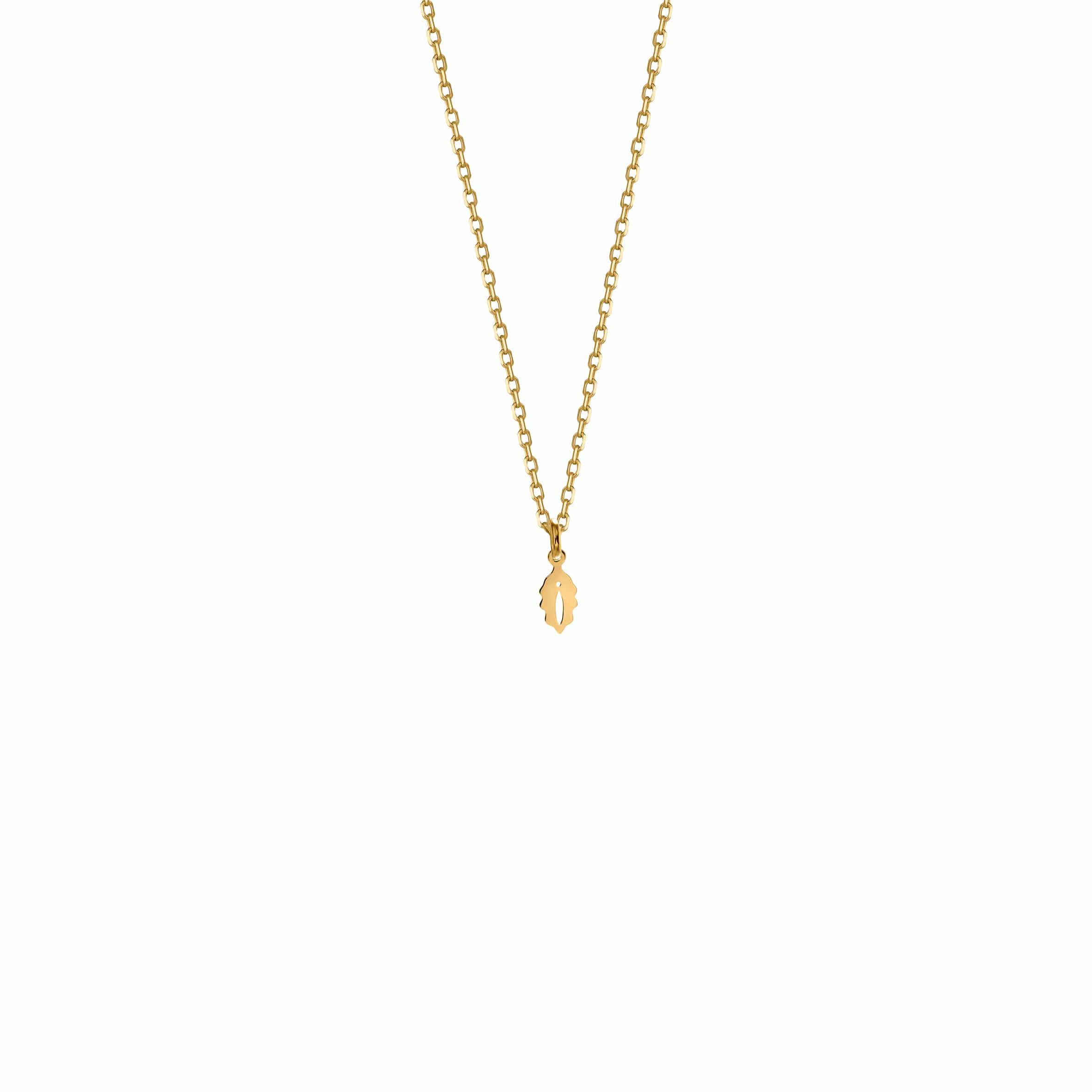 Mini Necklace Feminin Gold
